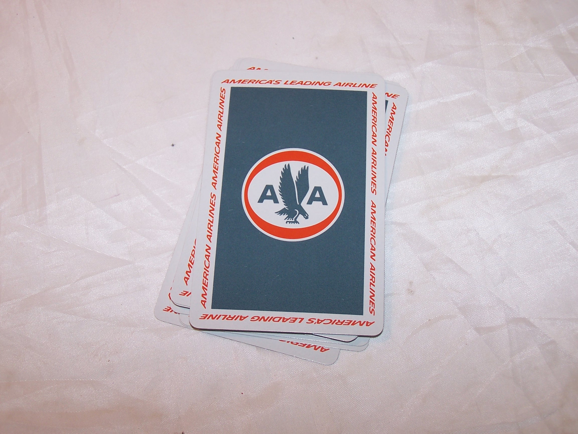 Playing Cards, American Airlines Astrojets, Orig Pkg