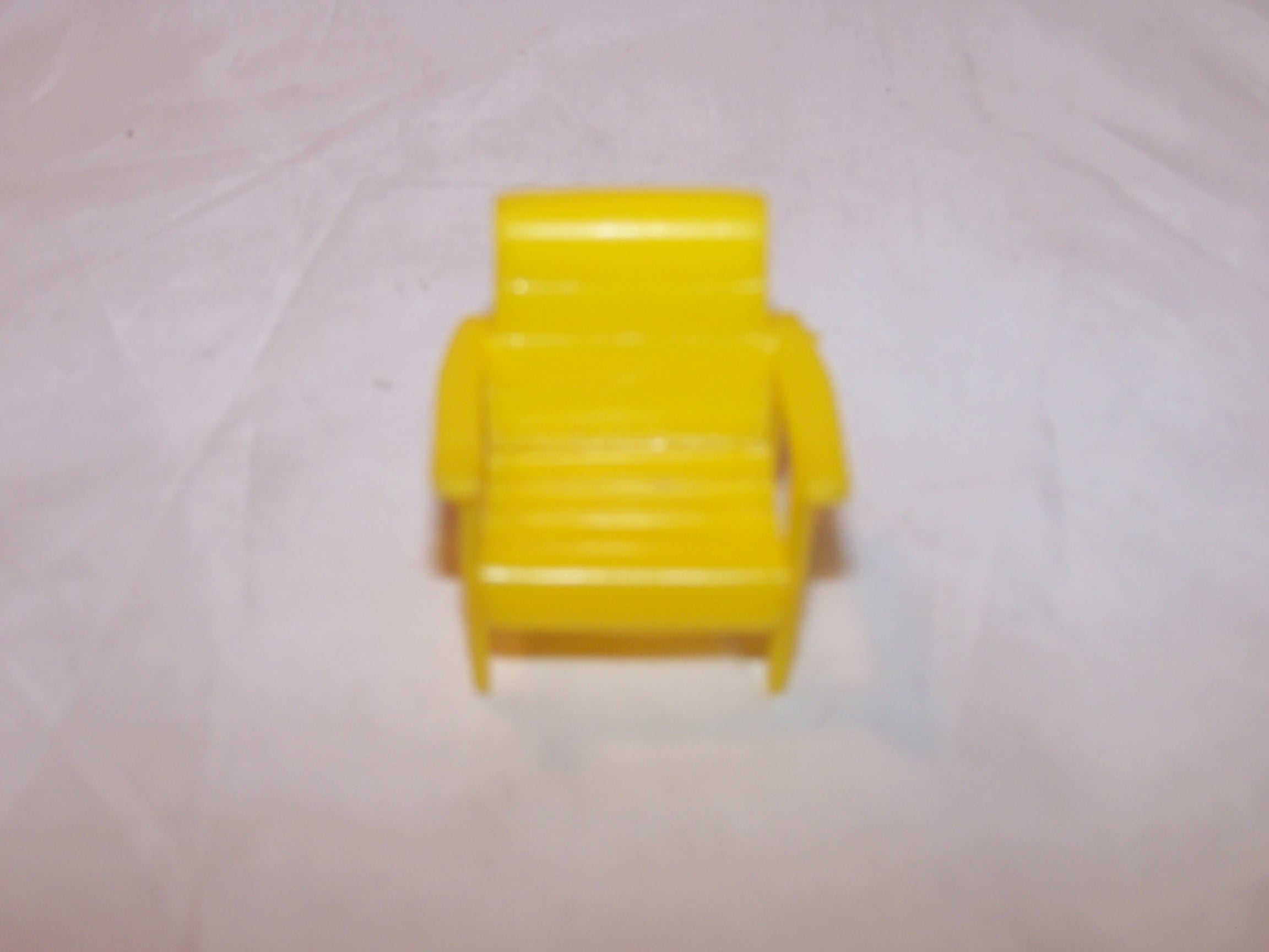 Dollhouse Chair, Yellow