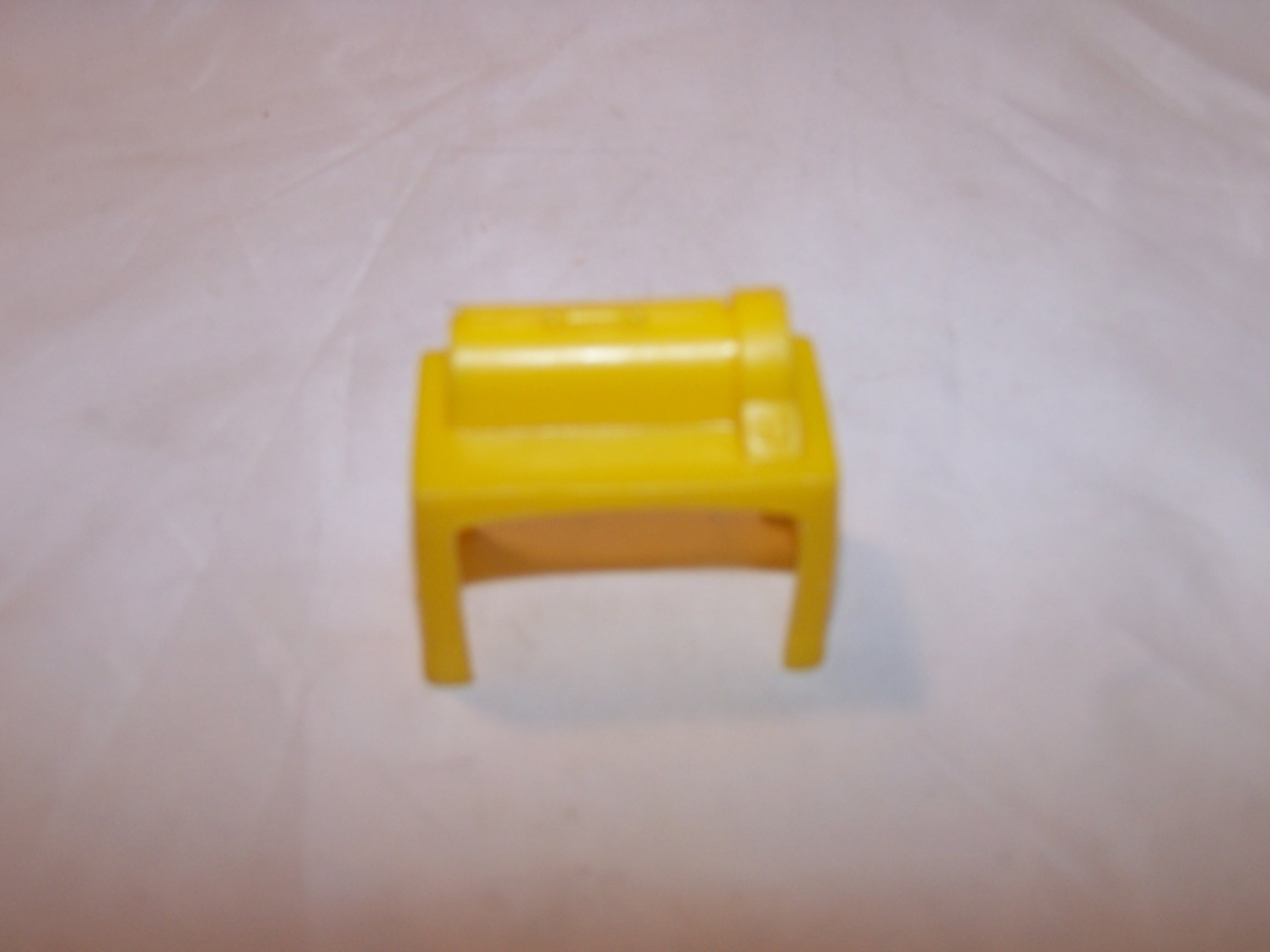 Image 0 of Dollhouse Yellow Appliance Table, Plastic, Vintage