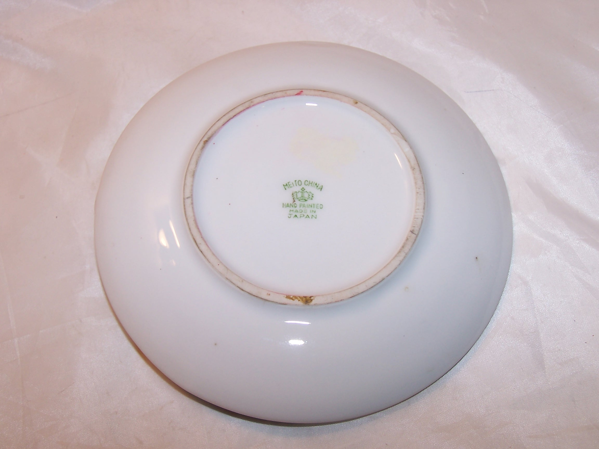 Image 2 of Meito China Lemon Server Plate, Hand Painted, Japan