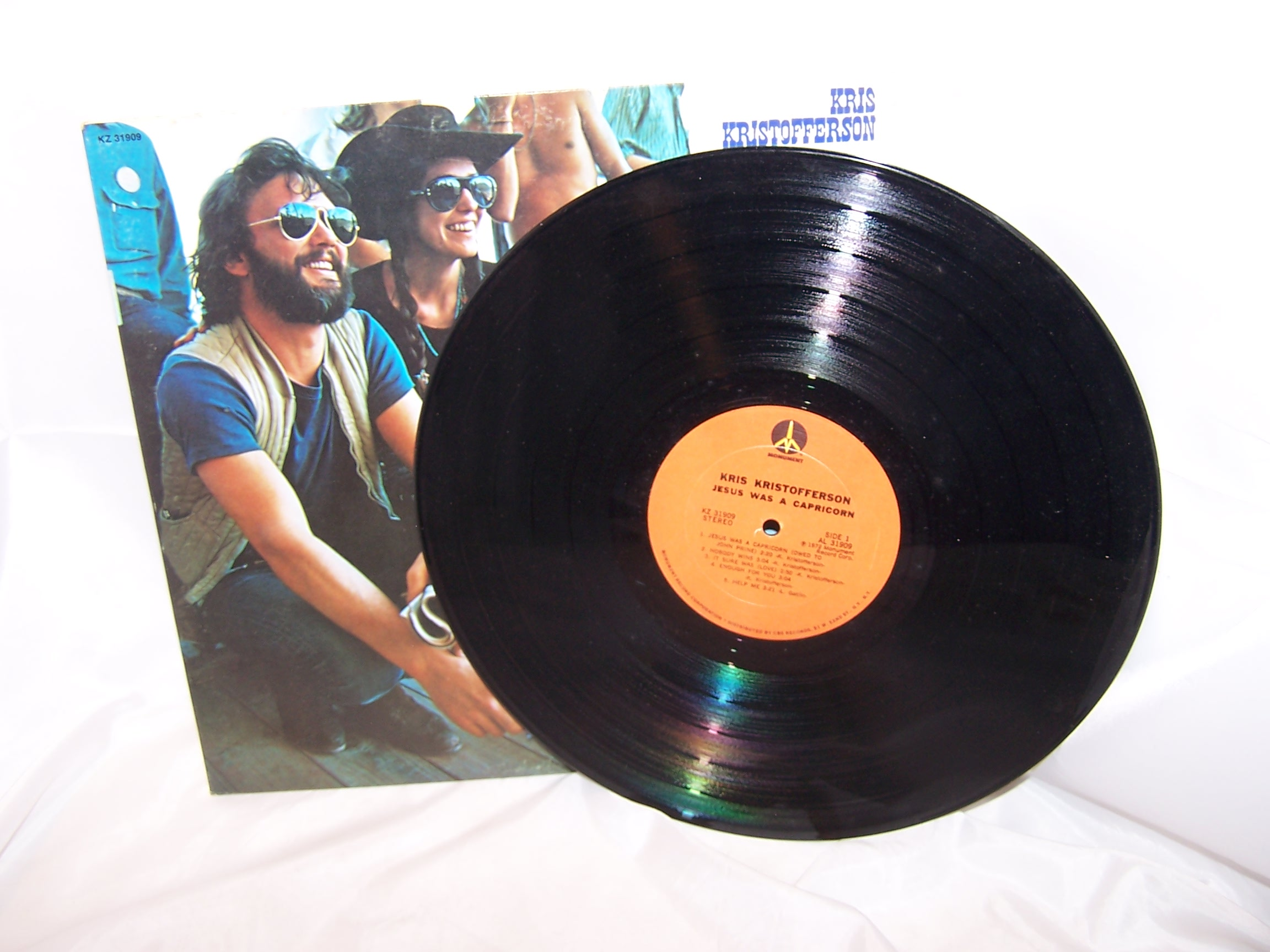 Image 3 of Jesus Was A Capricorn, Kris Kristofferson Record, Monument Columbia