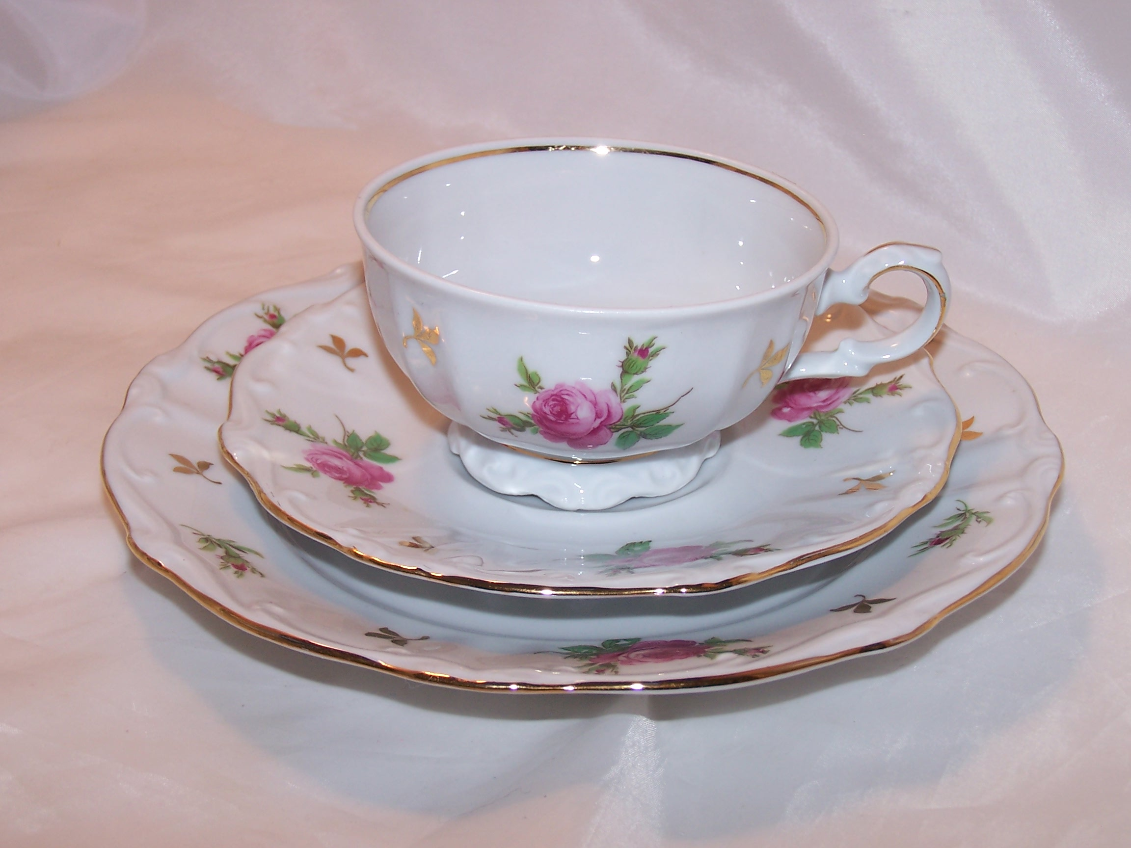 Bareuther Bavaria Dessert Service for 8, Germany, ca 1931 to 1950