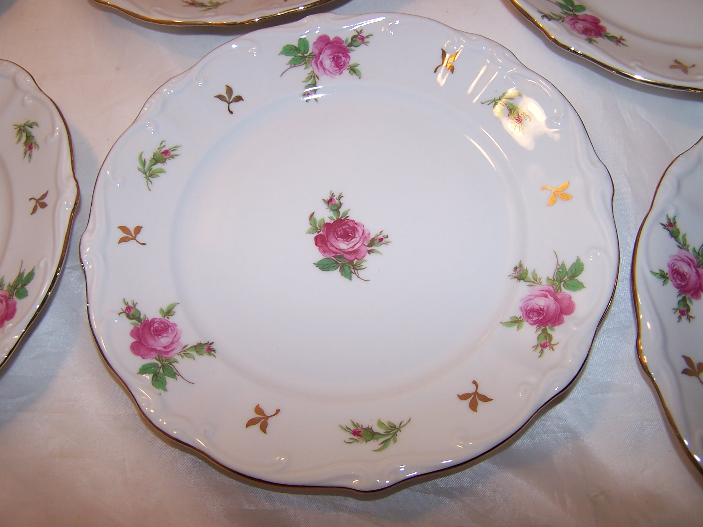 Bareuther Bavaria Dessert Service For 8 Germany Ca 1931
