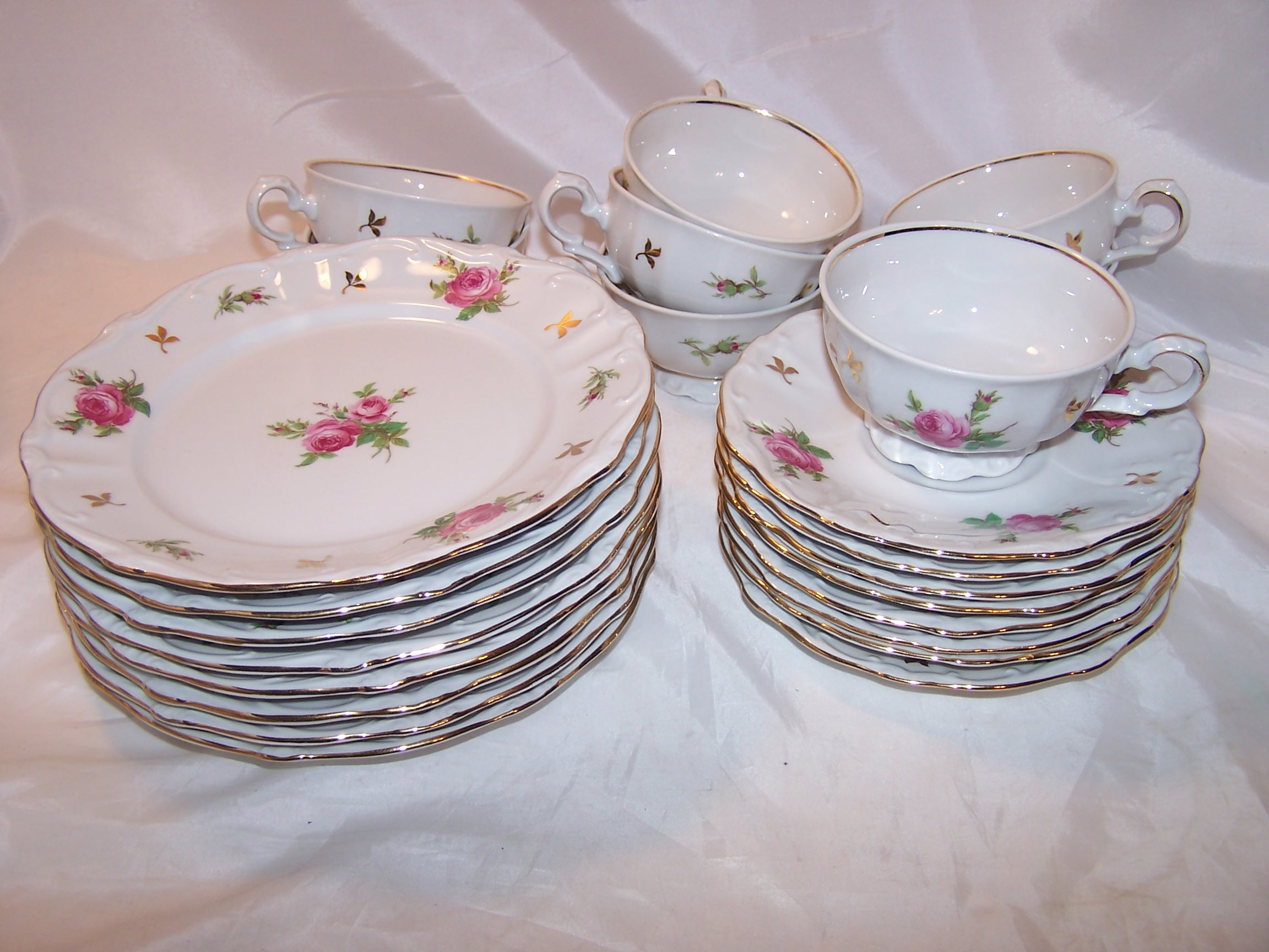 Image 1 of Bareuther Bavaria Dessert Service for 8, Germany, ca 1931 to 1950