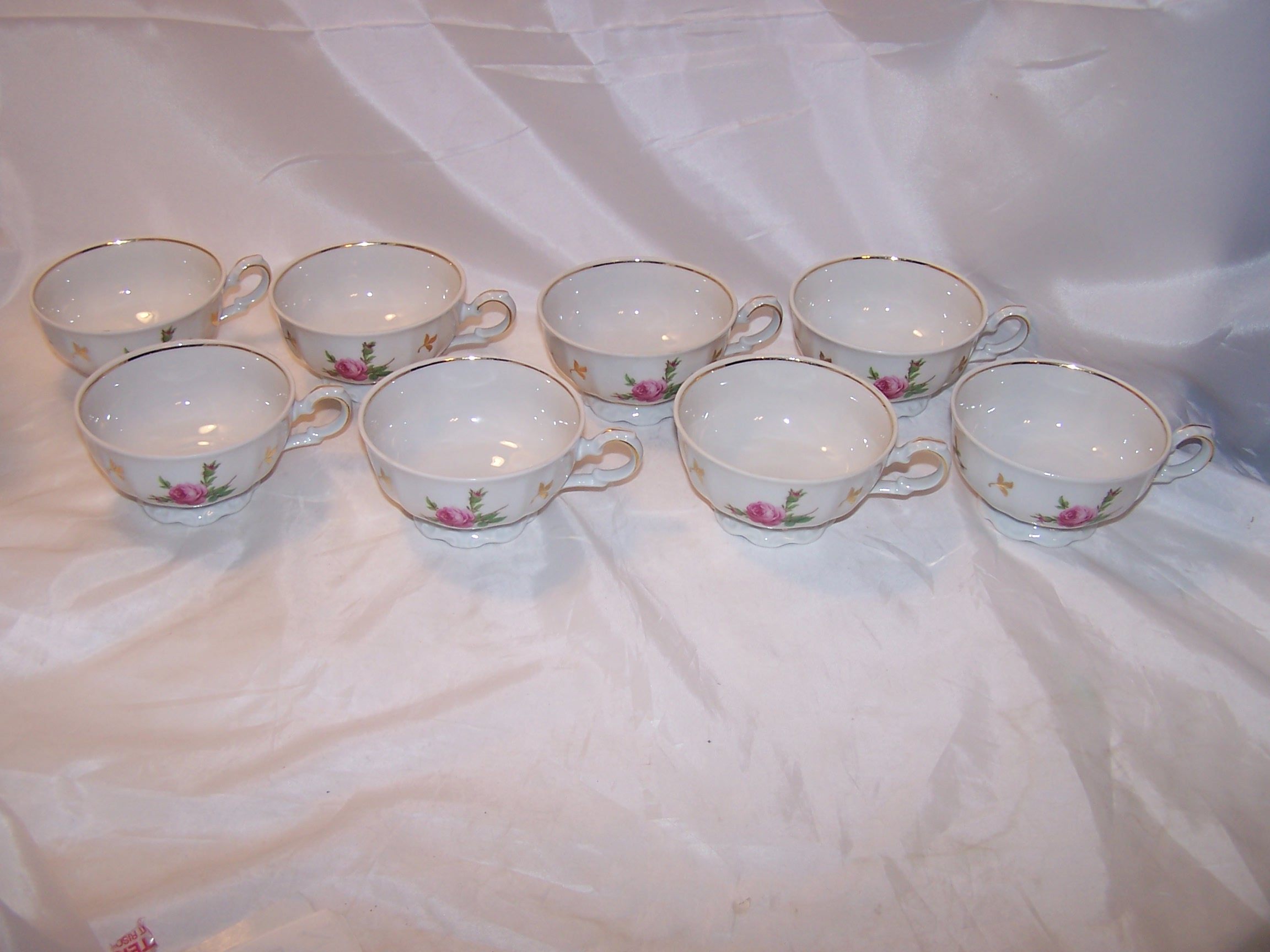 Image 5 of Bareuther Bavaria Dessert Service for 8, Germany, ca 1931 to 1950