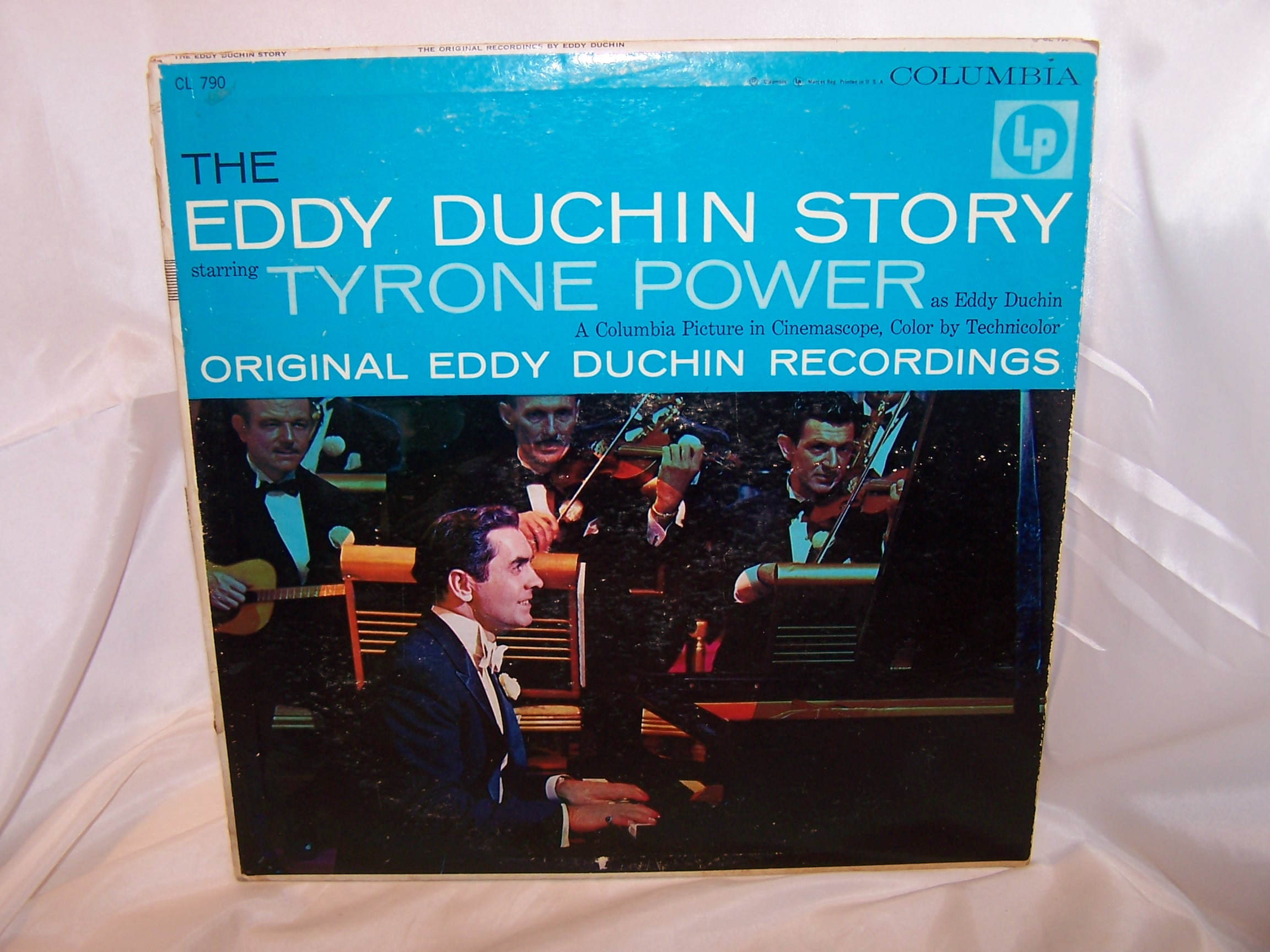Eddy Duchin Story Record Album, Columbia, Tyrone Power
