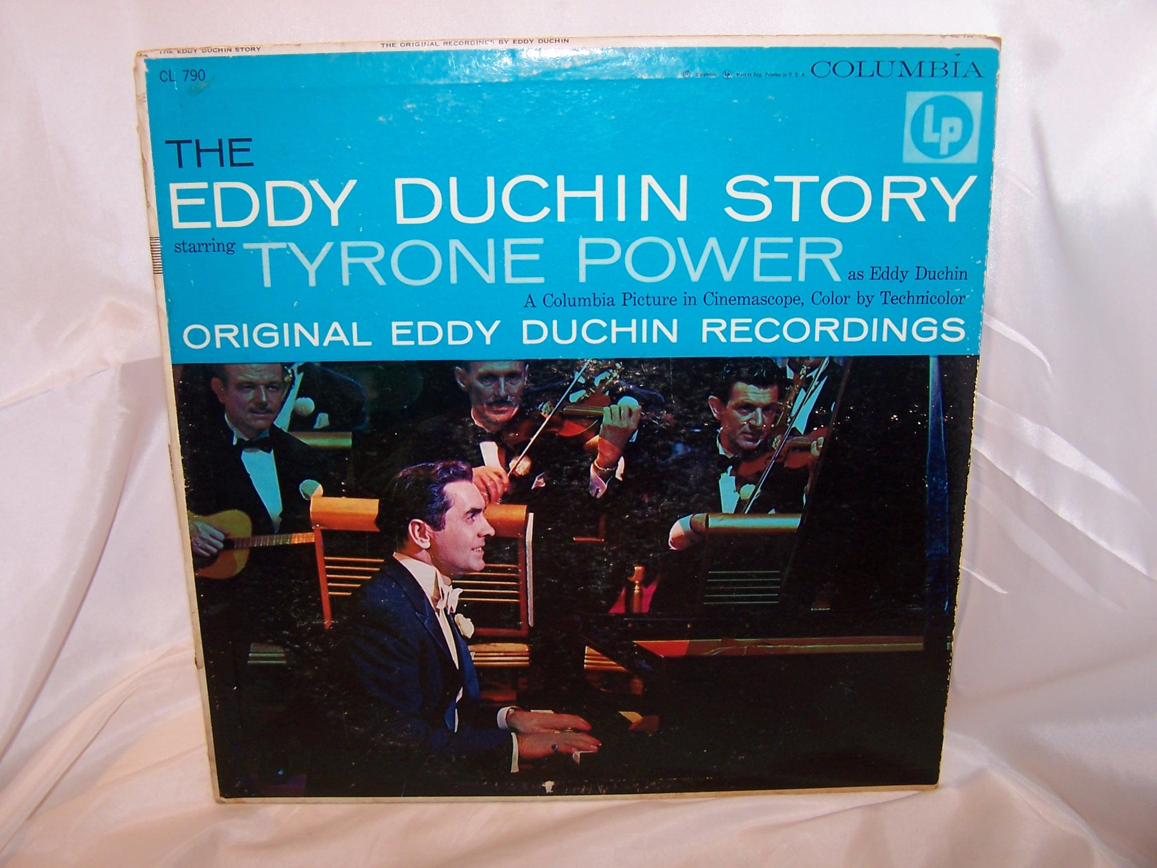 Eddy Duchin Story Record Album, Columbia, Tyrone Power