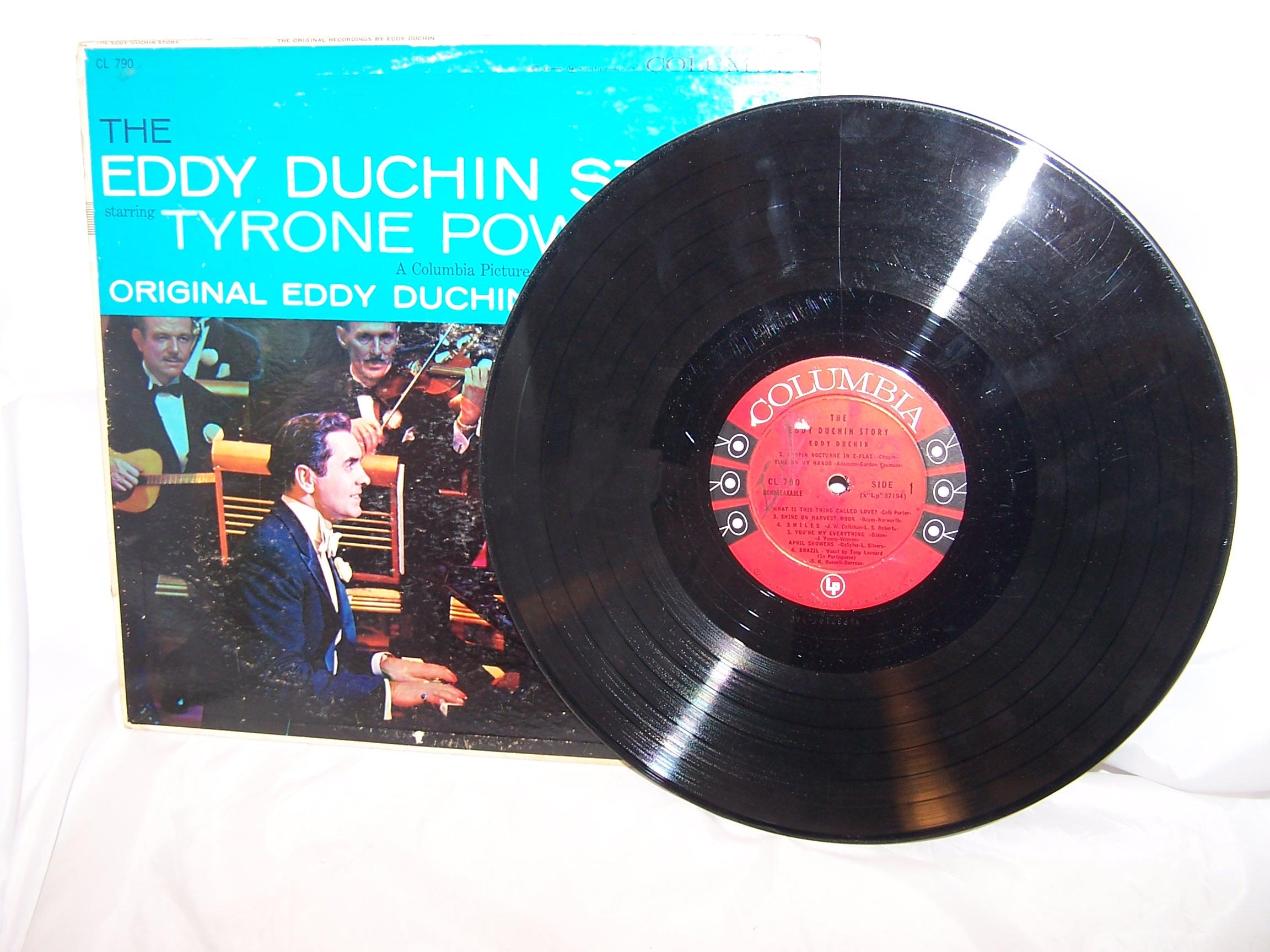 Image 3 of Eddy Duchin Story Record Album, Columbia, Tyrone Power