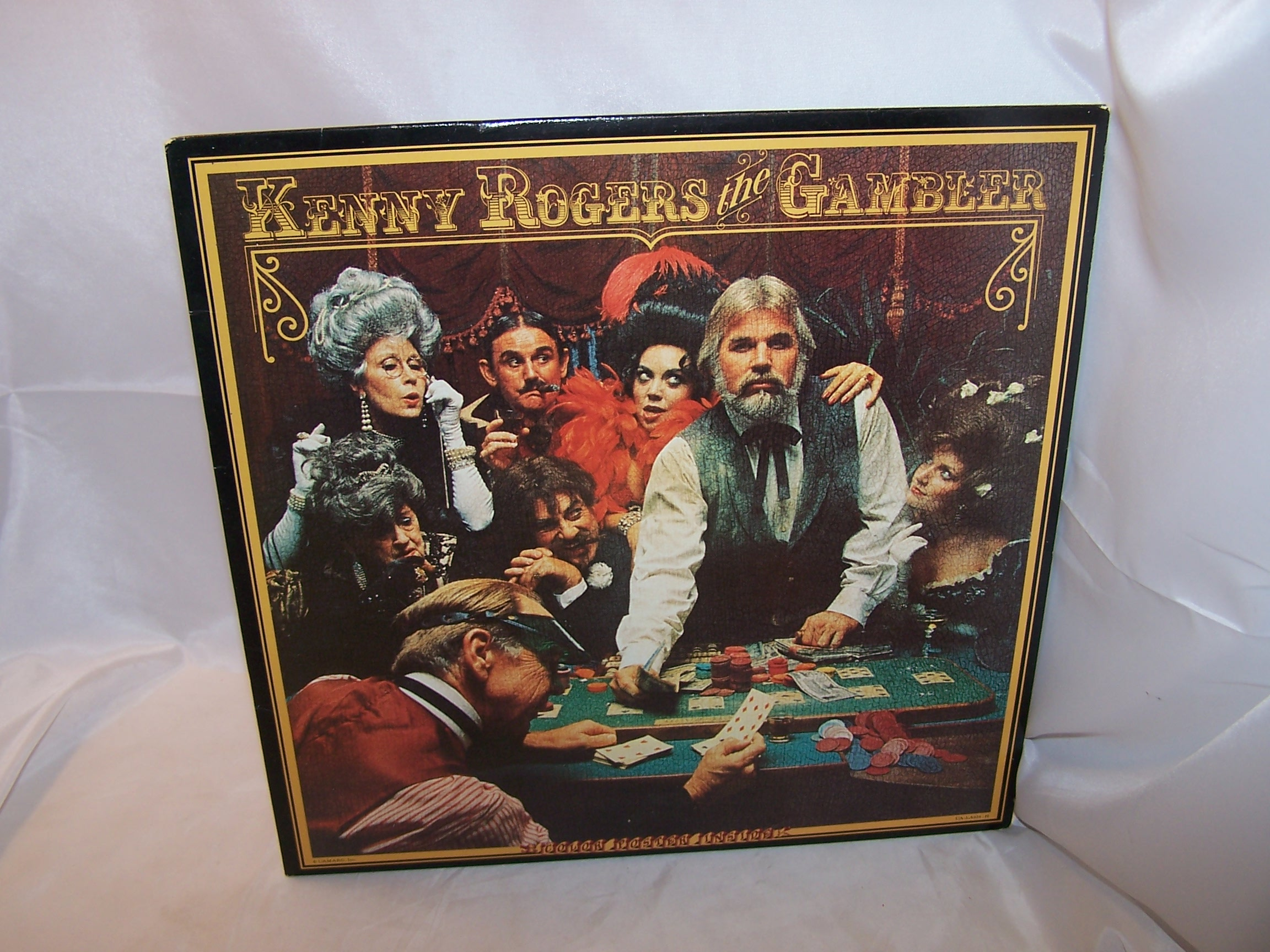Kenny Rogers The Gambler Record Album, Poster, 1978