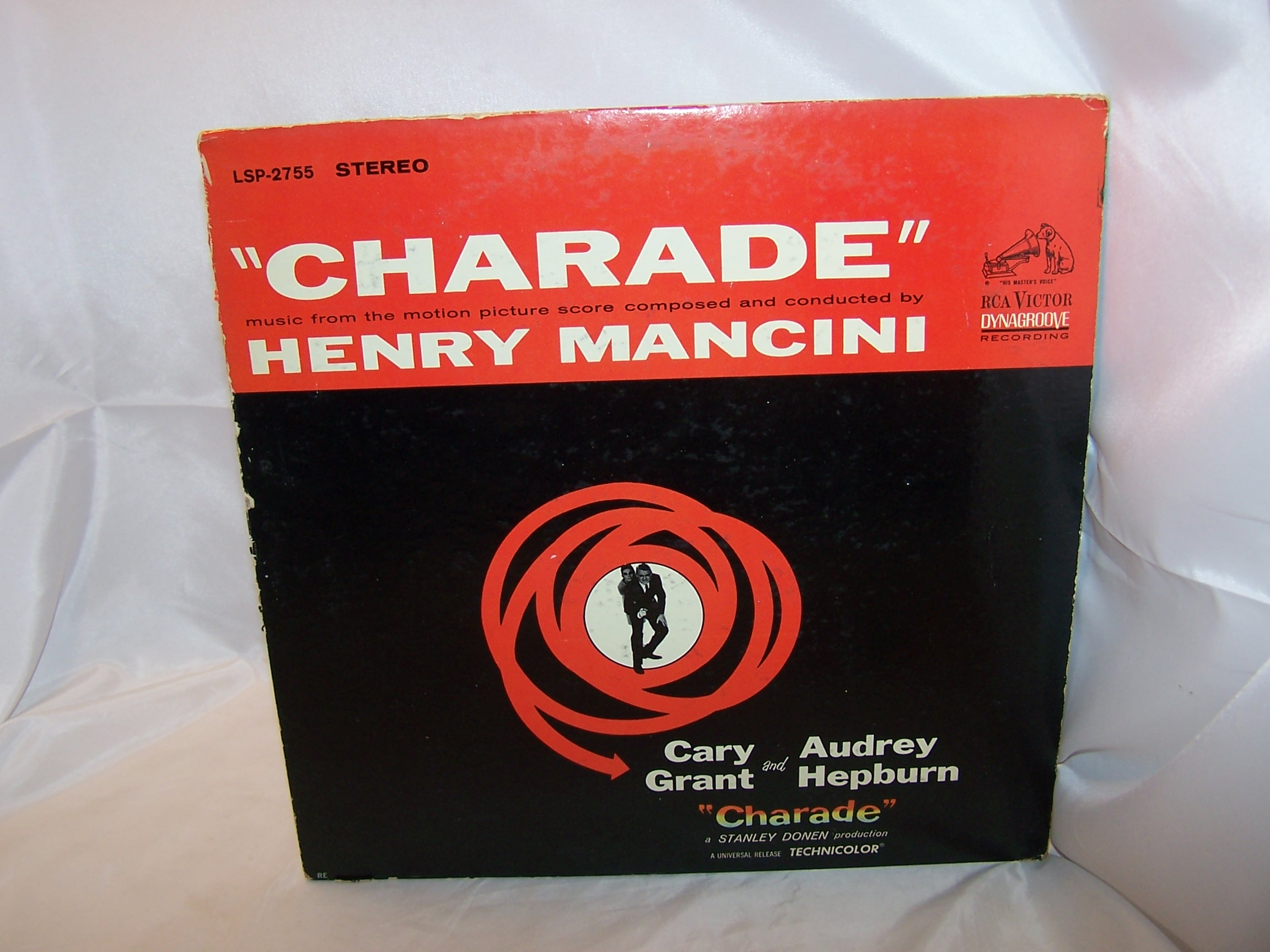 Henry Mancini, Charade, from the Movie Score, Cary Grant, Audrey Hepburn, 1963
