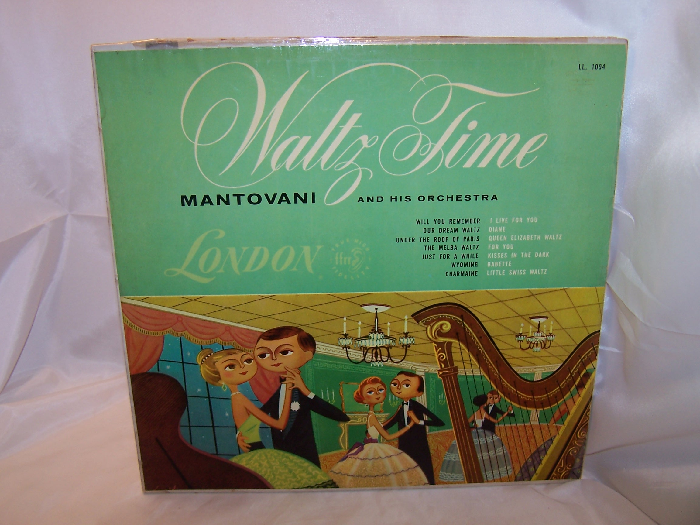 Mantovani and Orchestra, Waltz Time, England, Vintage