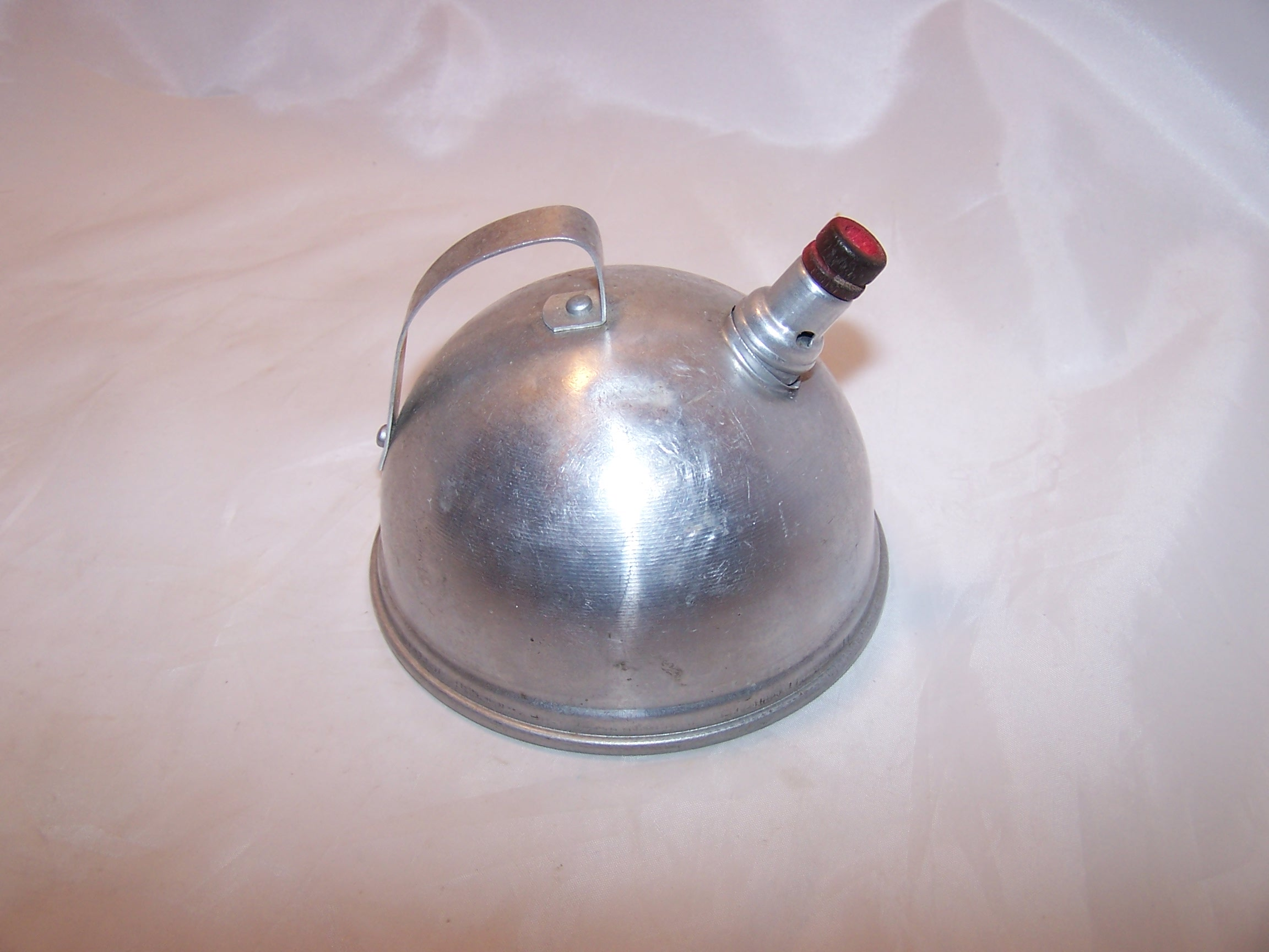 Image 2 of Toy Dome Teapot, Vintage, Aluminum