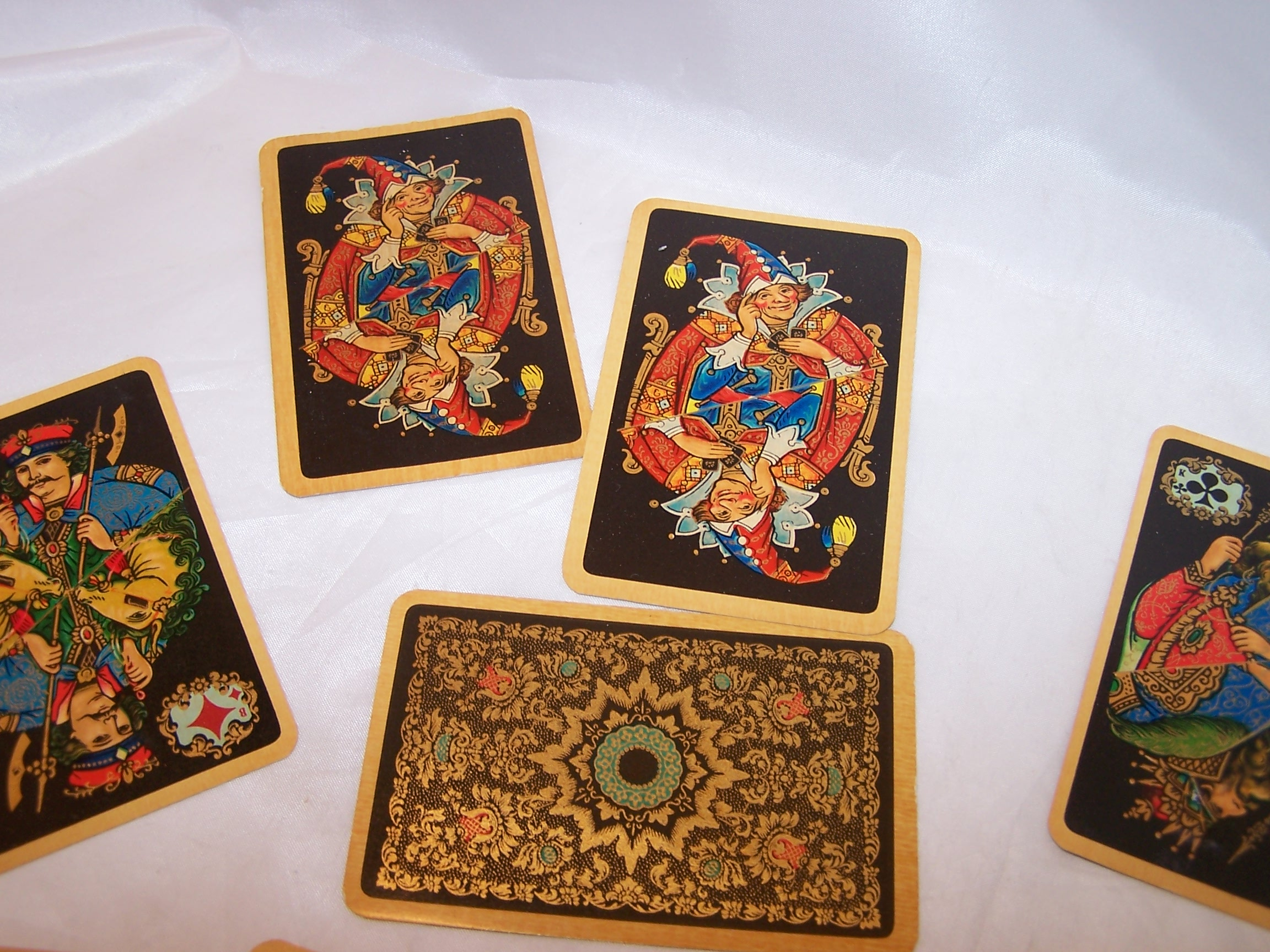 Playing Cards Rich Colors Gold Complete Deck