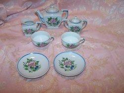 Miniature Tea Set, Made in Japan, Vintage, Set B