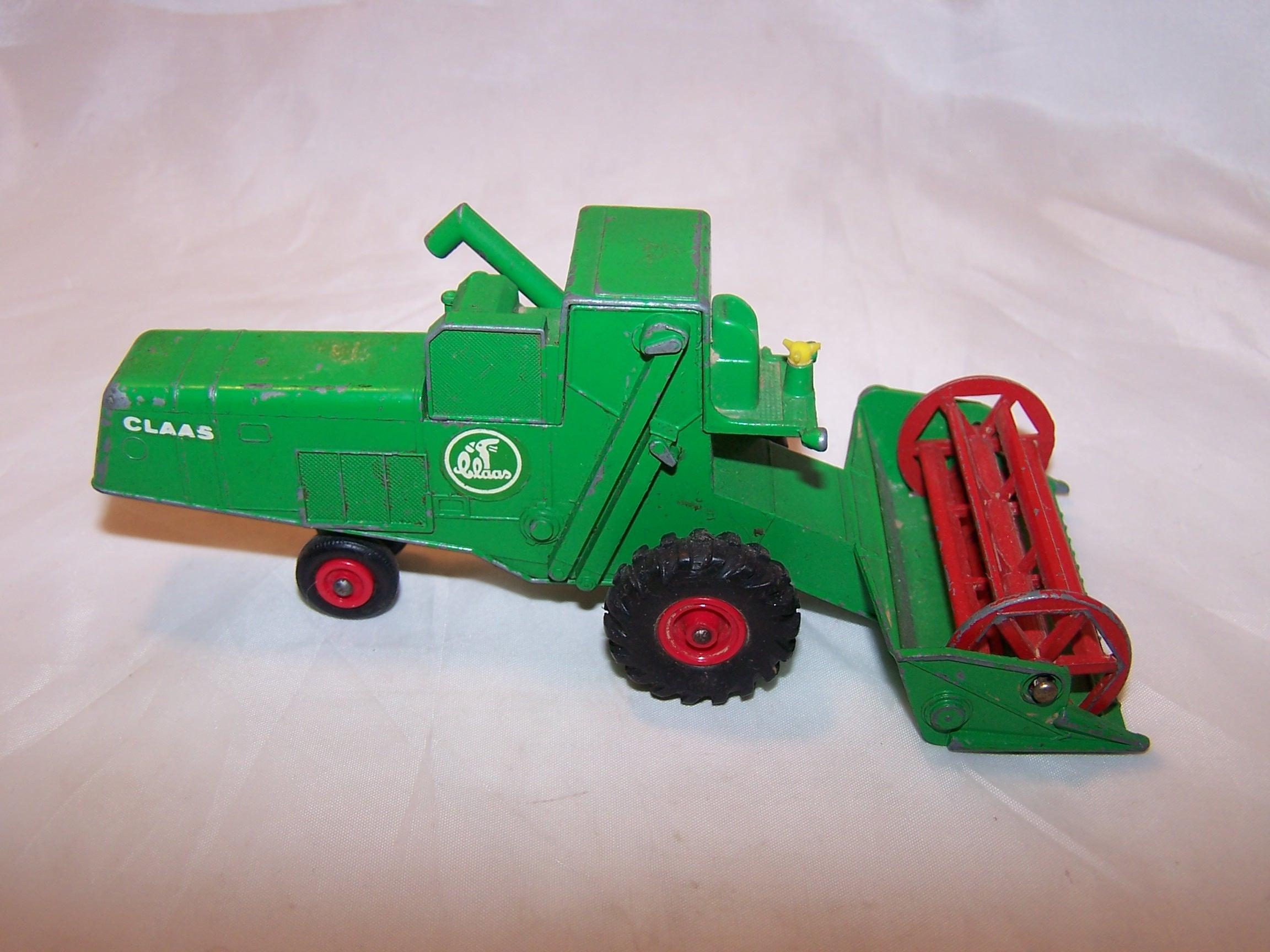 Claas Combine Harvester K9, Matchbox, Lesney