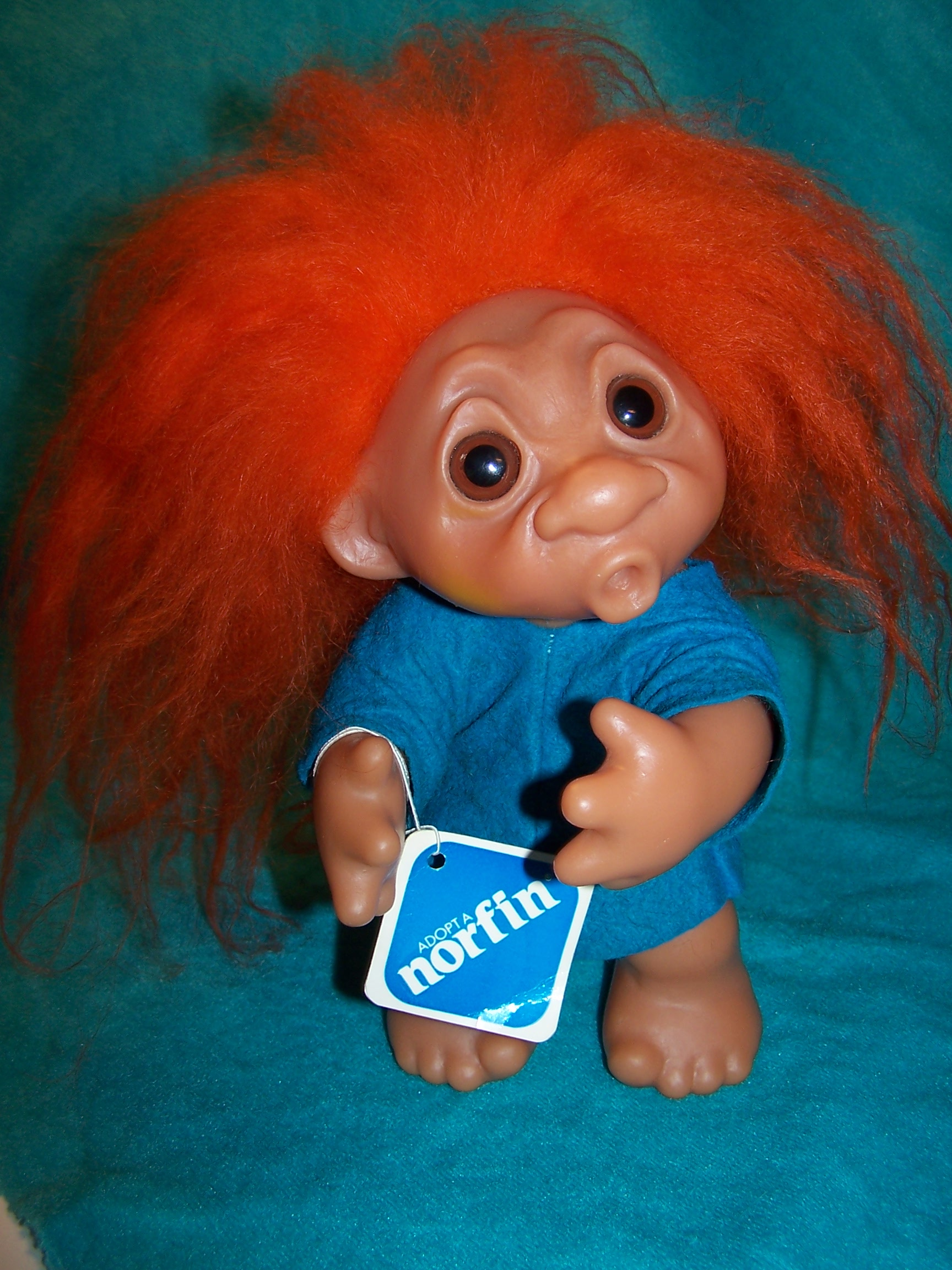 Norfin Troll Doll Grandpa, Thomas Dam, 1977 Denmark