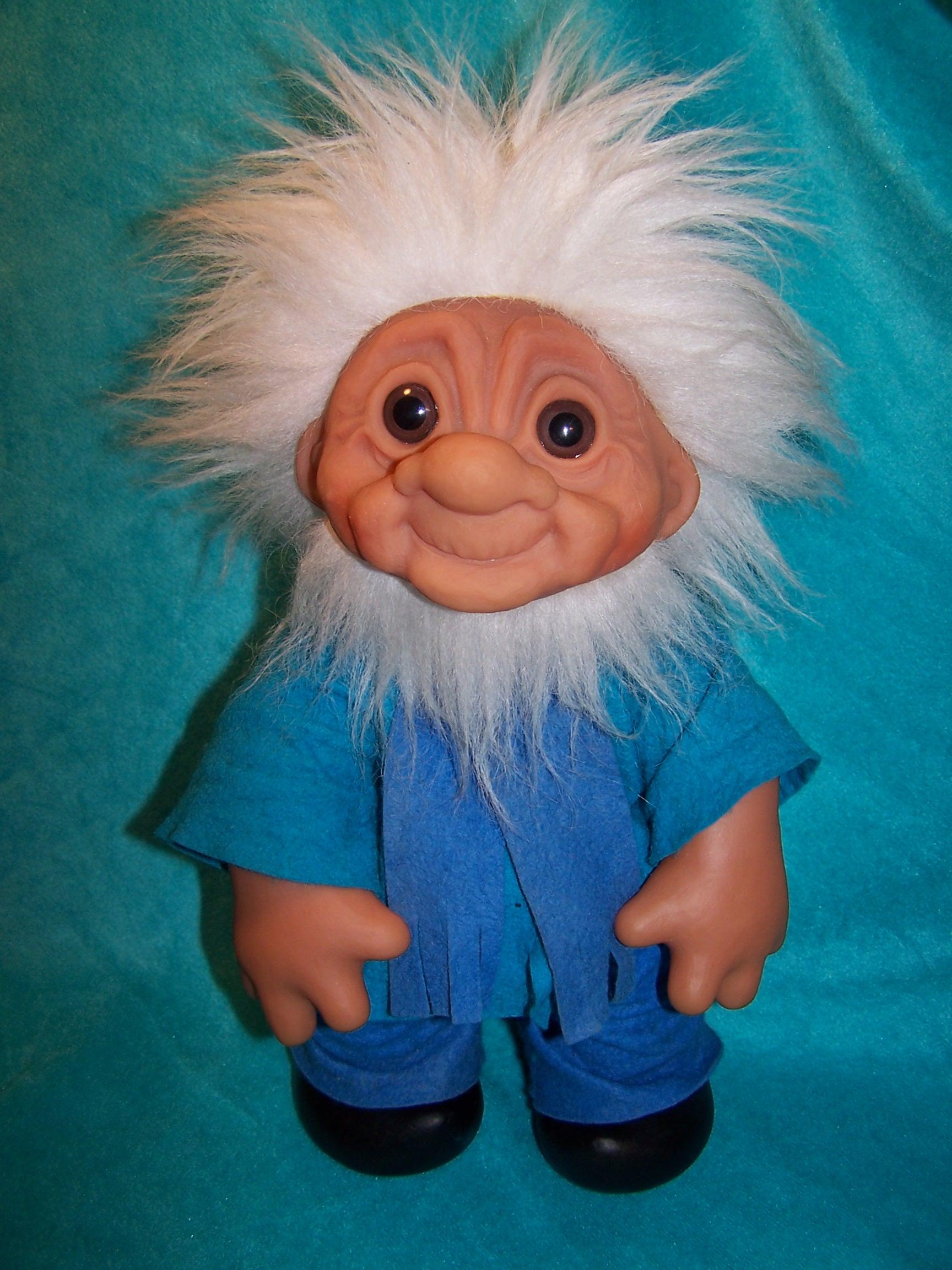 Norfin Troll Doll Grandpa