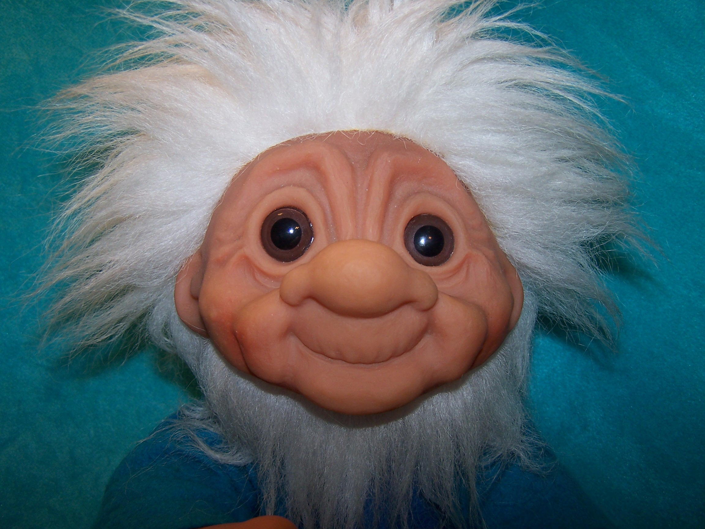 Image 1 of Norfin Troll Doll Grandpa, Thomas Dam, 1977 Denmark
