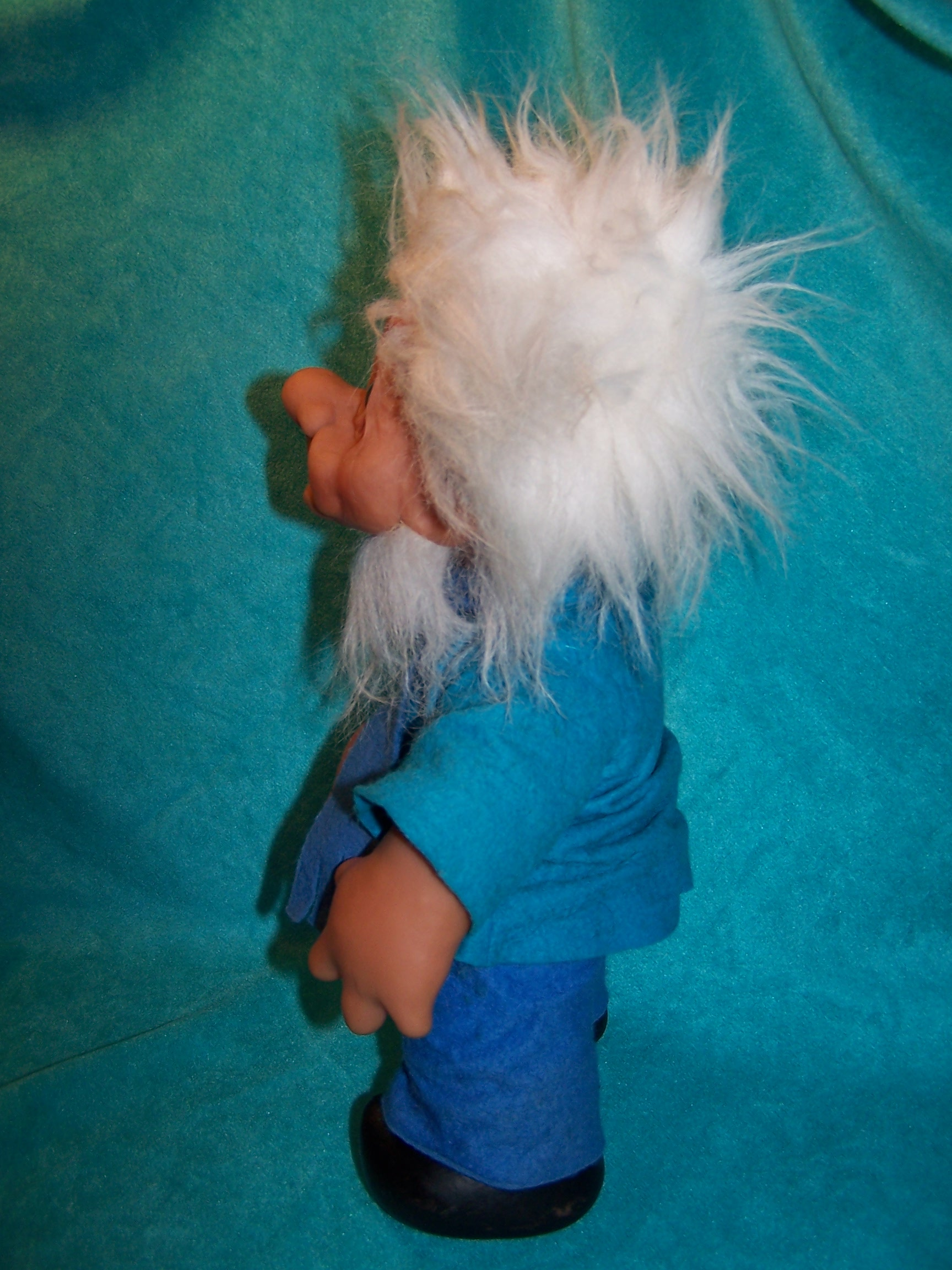 Image 2 of Norfin Troll Doll Grandpa, Thomas Dam, 1977 Denmark