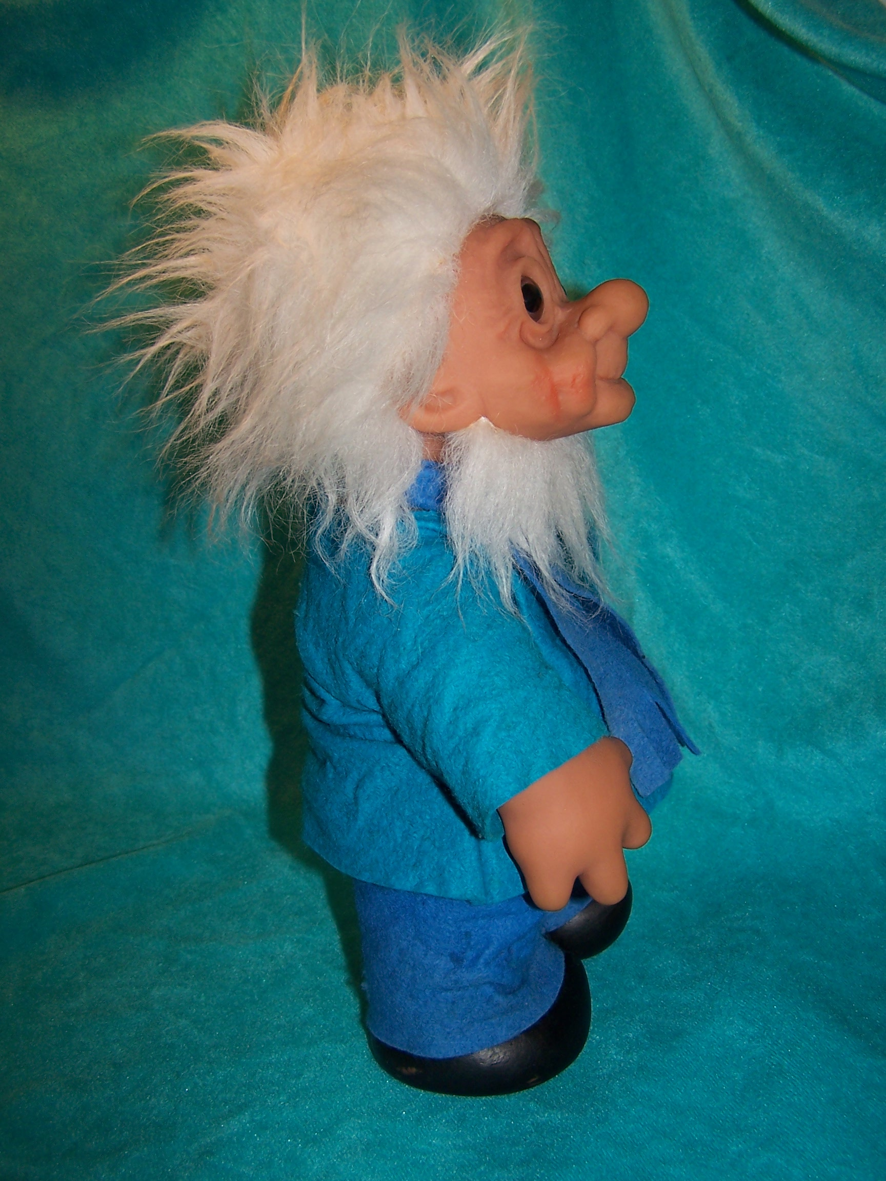 Image 4 of Norfin Troll Doll Grandpa, Thomas Dam, 1977 Denmark