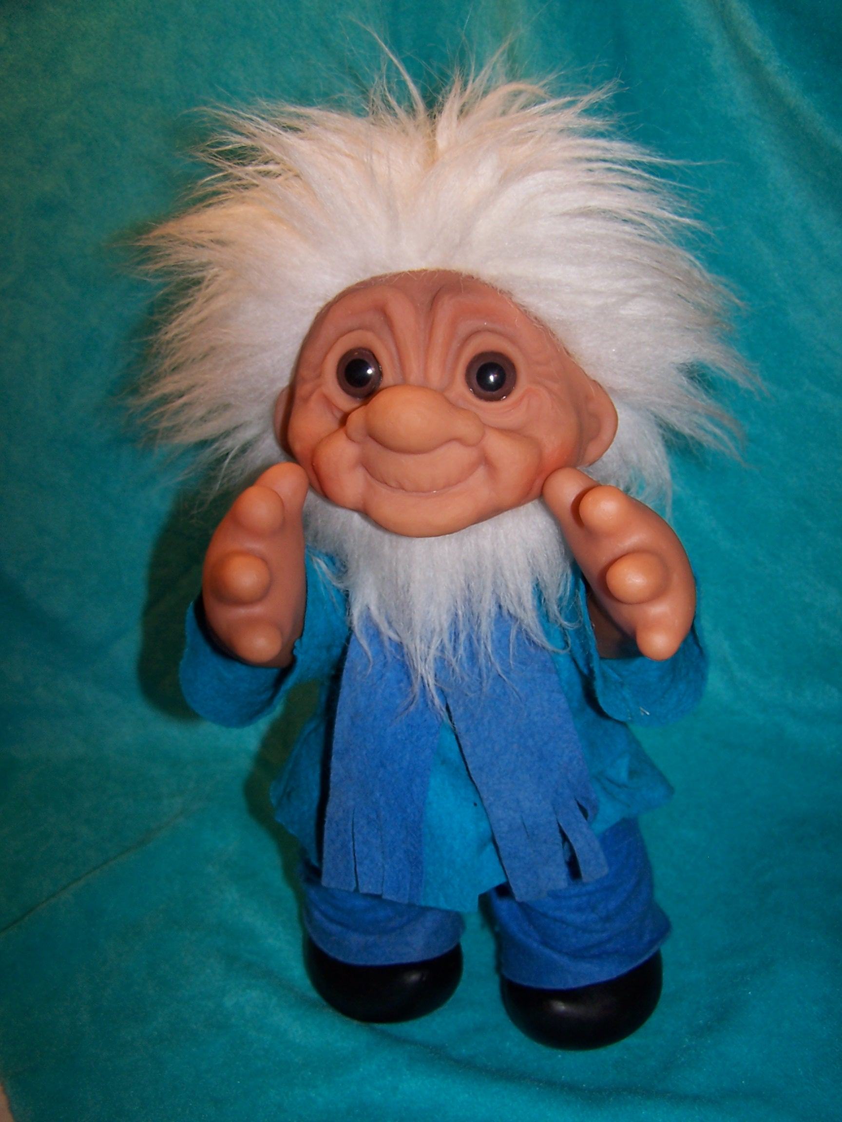 Image 5 of Norfin Troll Doll Grandpa, Thomas Dam, 1977 Denmark