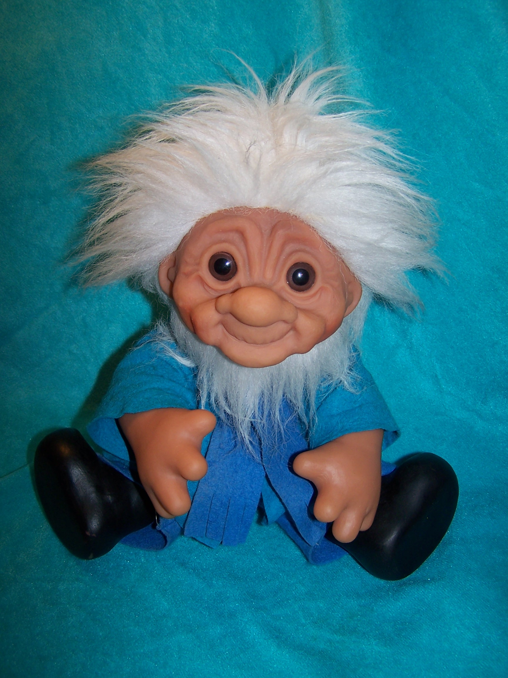Image 6 of Norfin Troll Doll Grandpa, Thomas Dam, 1977 Denmark