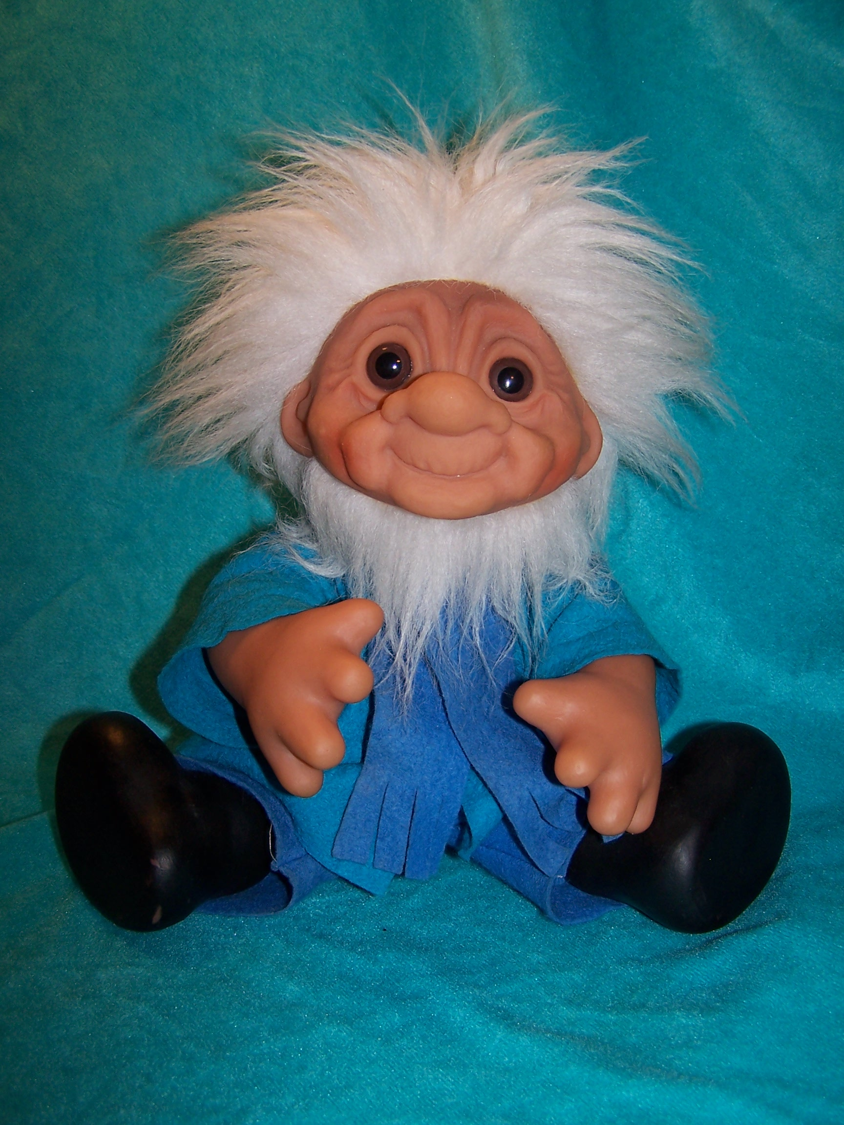 Image 7 of Norfin Troll Doll Grandpa, Thomas Dam, 1977 Denmark