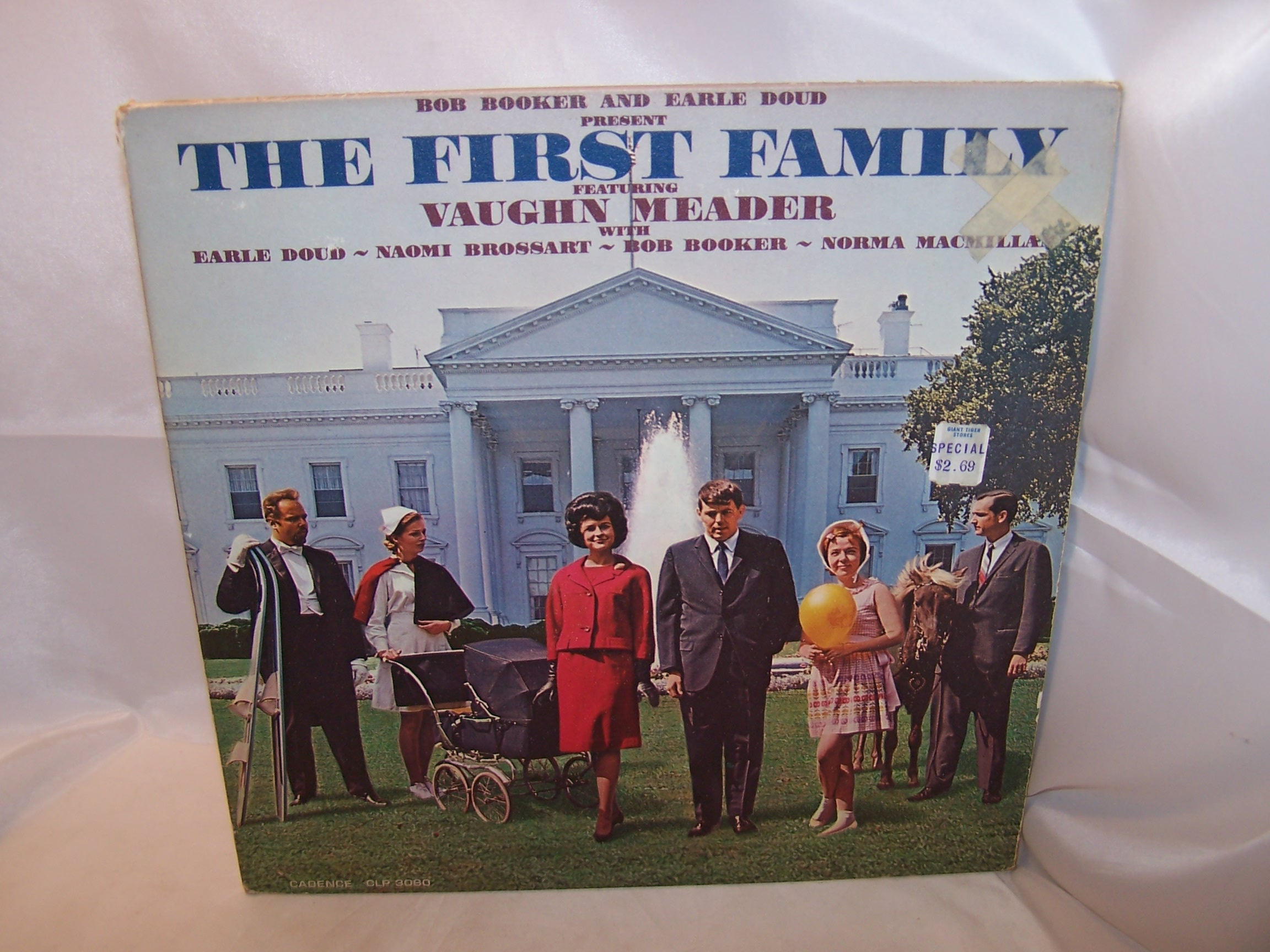 The First Family Record, Booker and Doud, 1962