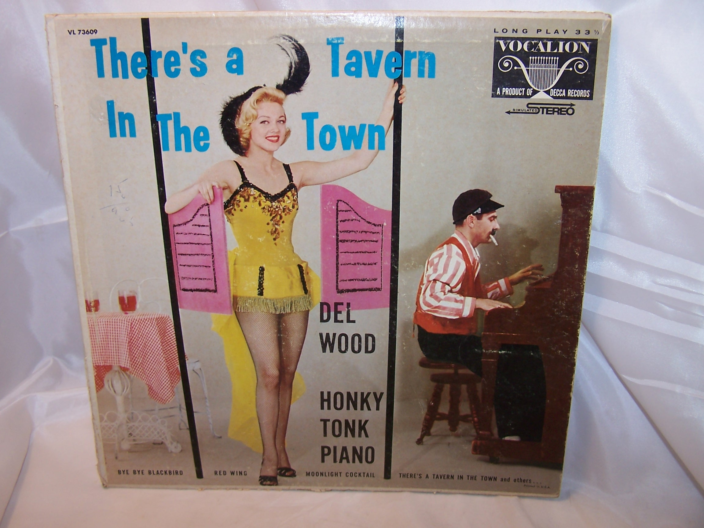 Theres a Tavern in the Town, Record Cover for Framing