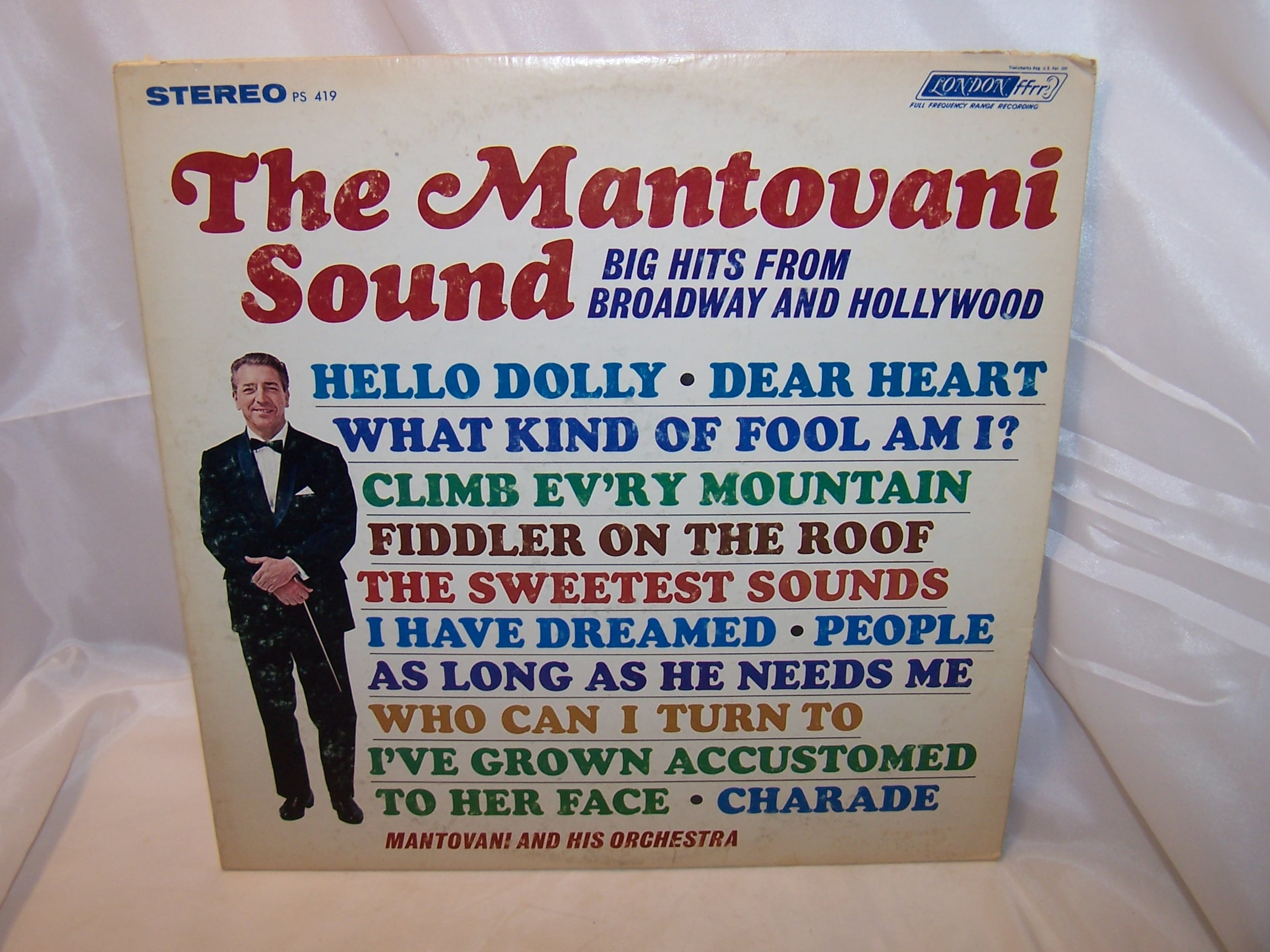 Mantovani Sound, Broadway Hollywood Hits, Record, LP