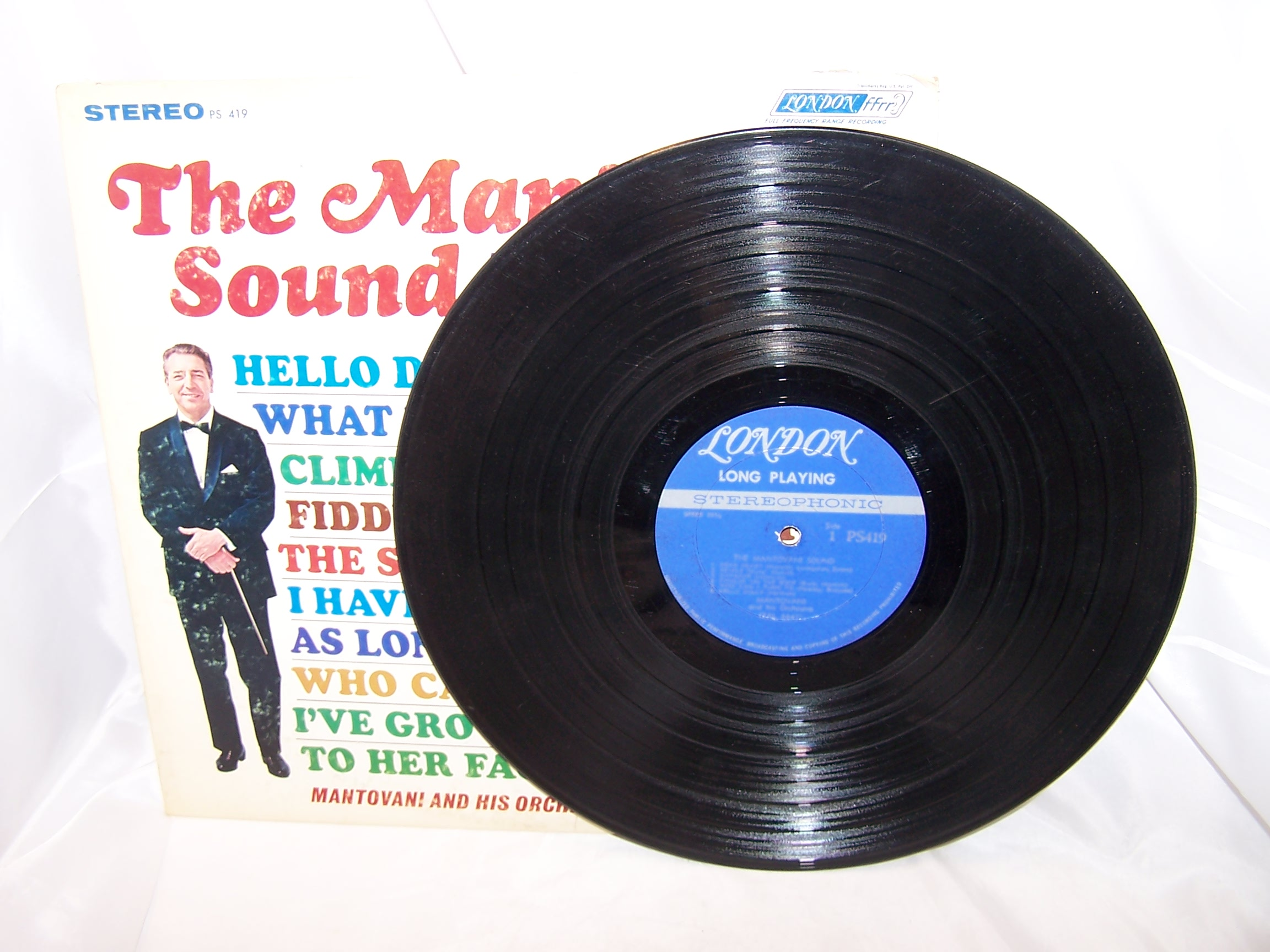 Image 1 of Mantovani Sound, Broadway Hollywood Hits, Record, LP