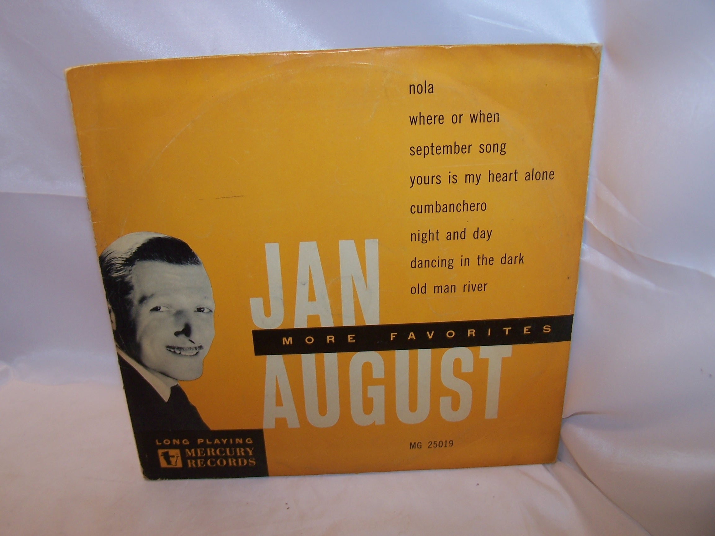 Jan August, More Favorites, LP Record, Mercury Records