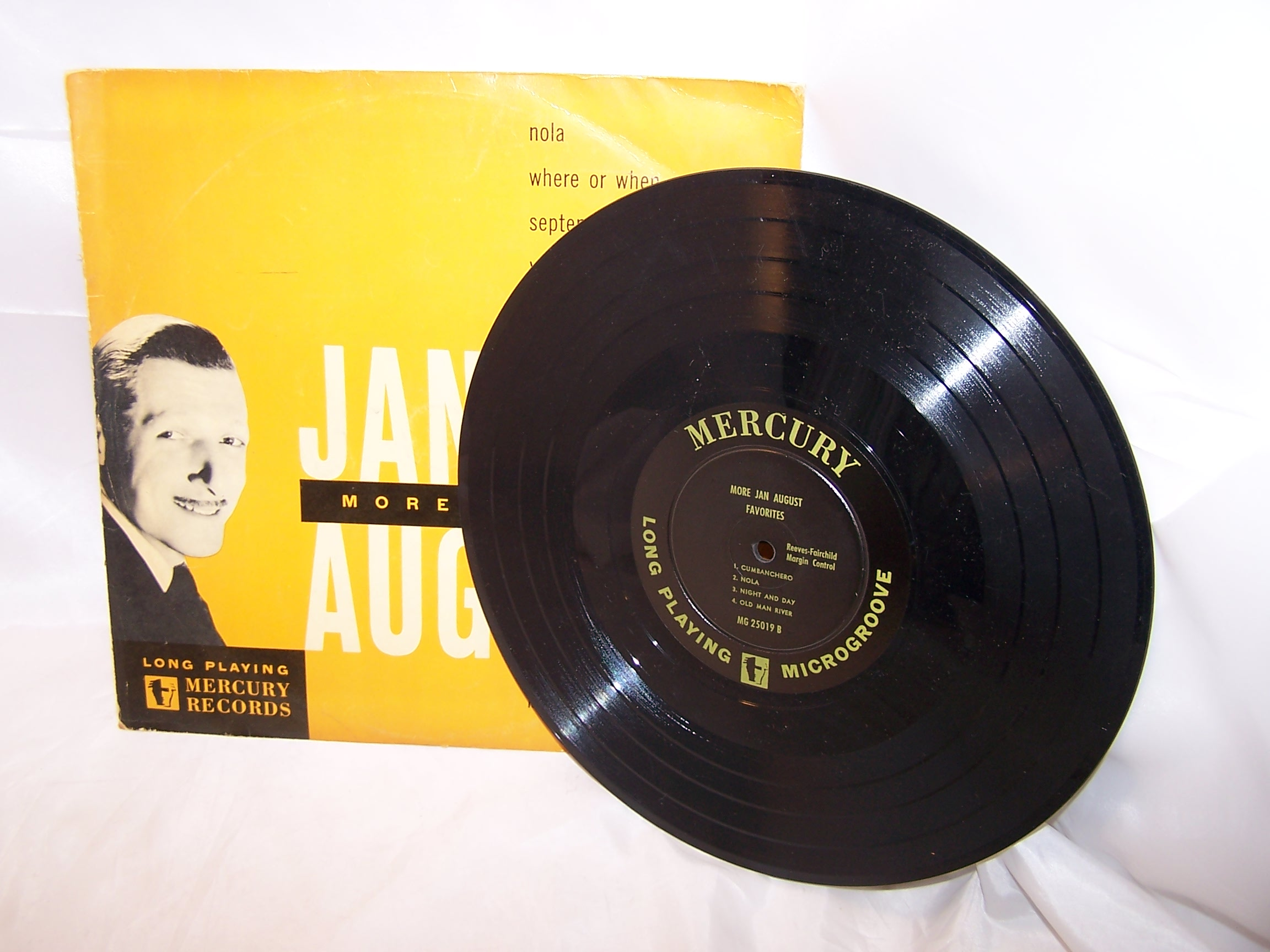 Image 2 of Jan August, More Favorites, LP Record, Mercury Records