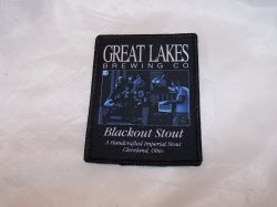 Great Lakes Brewing Co. Blackout Stout Cloth Patch