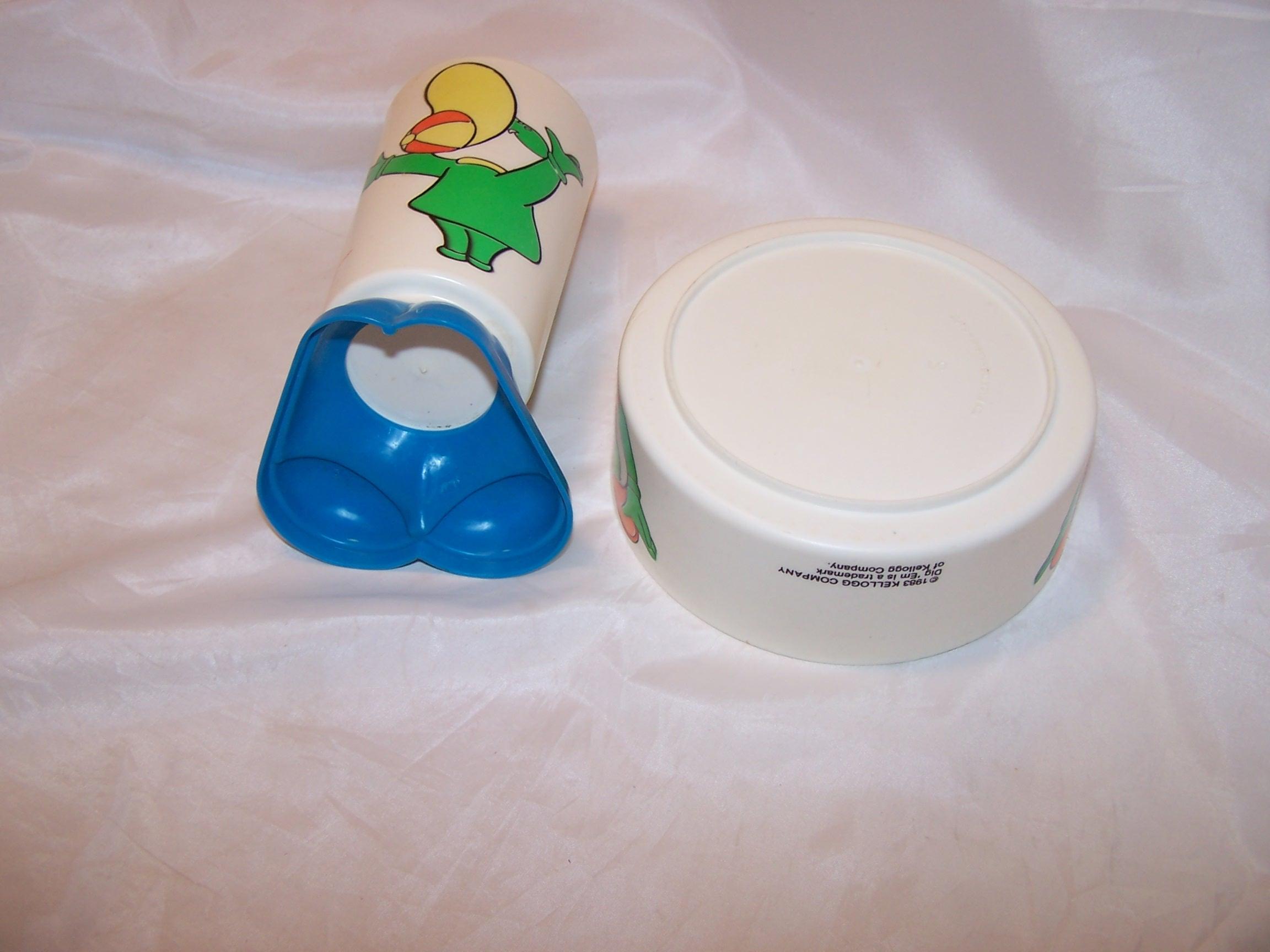 Image 6 of Kellogg Dig Em Cup and Bowl, Sugar Smacks, Plastic, 1980s