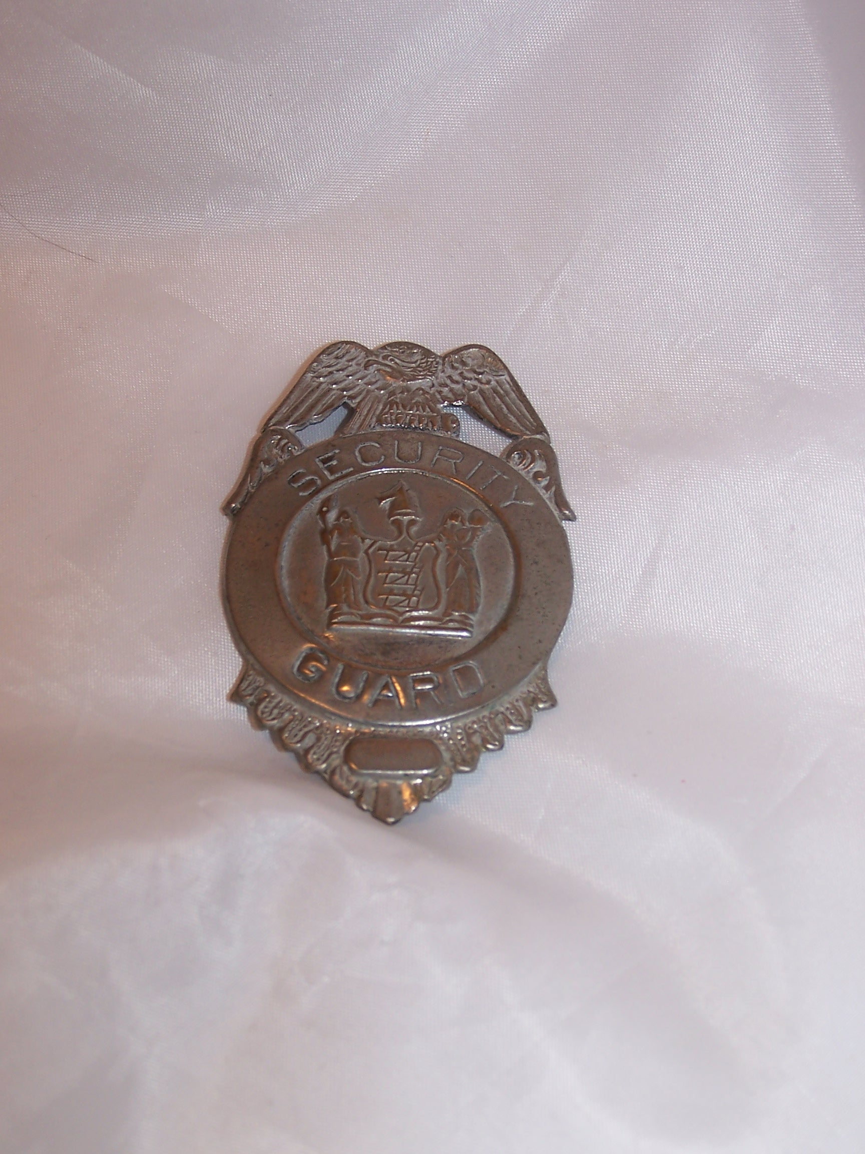 Security Guard Badge, Costume, Vintage