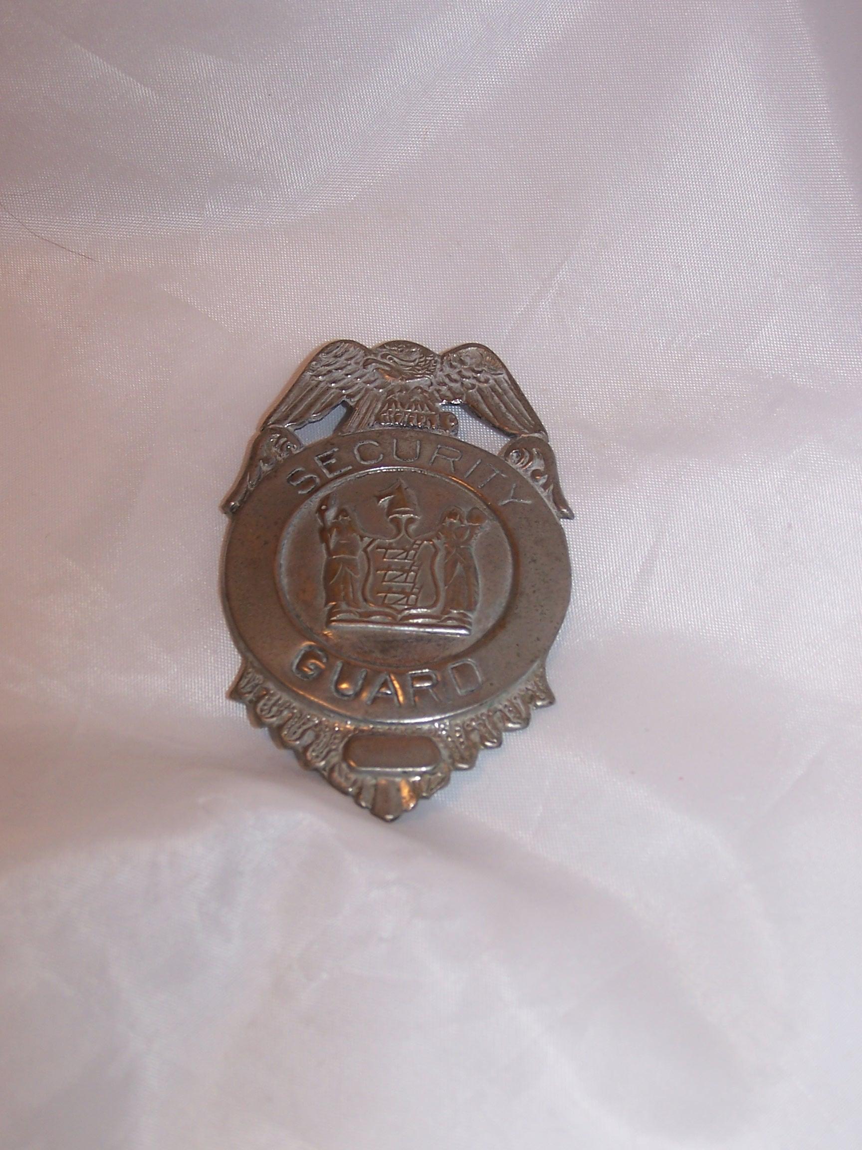 Security Guard Badge, Costume