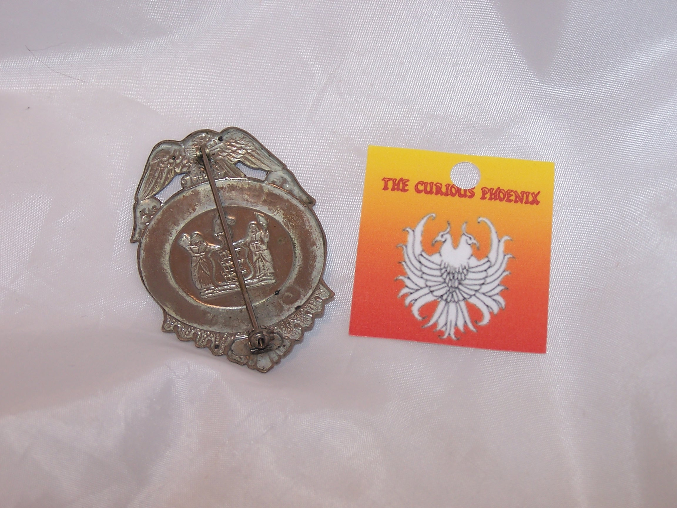 Image 1 of Security Guard Badge, Costume, Vintage