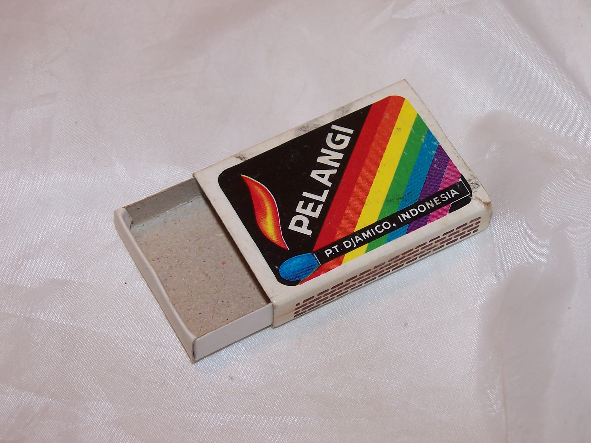 Image 4 of Rolling Stones Matchbox, Indonesia, Pelangi
