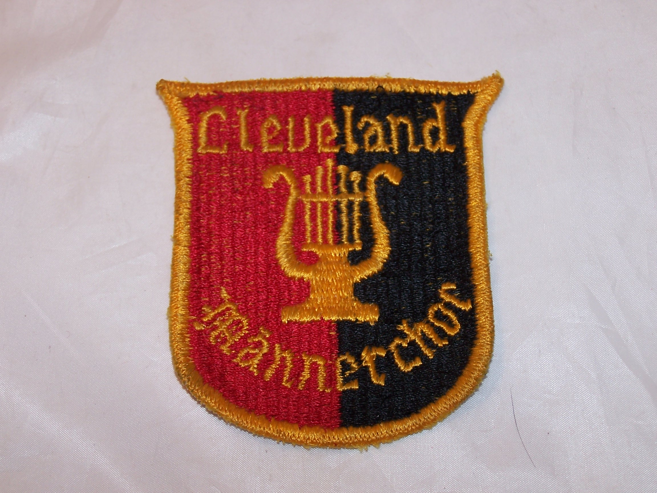 Cleveland Mannerchor Embroidered Cloth Patch