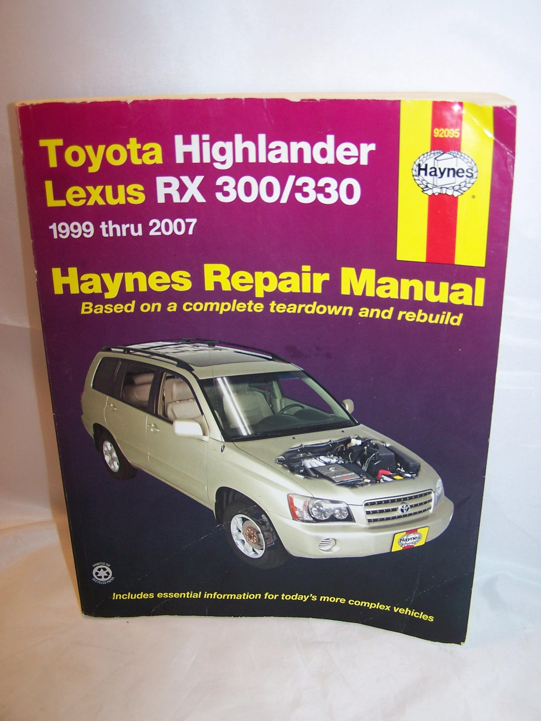 2008 toyota highlander repair manual pdf