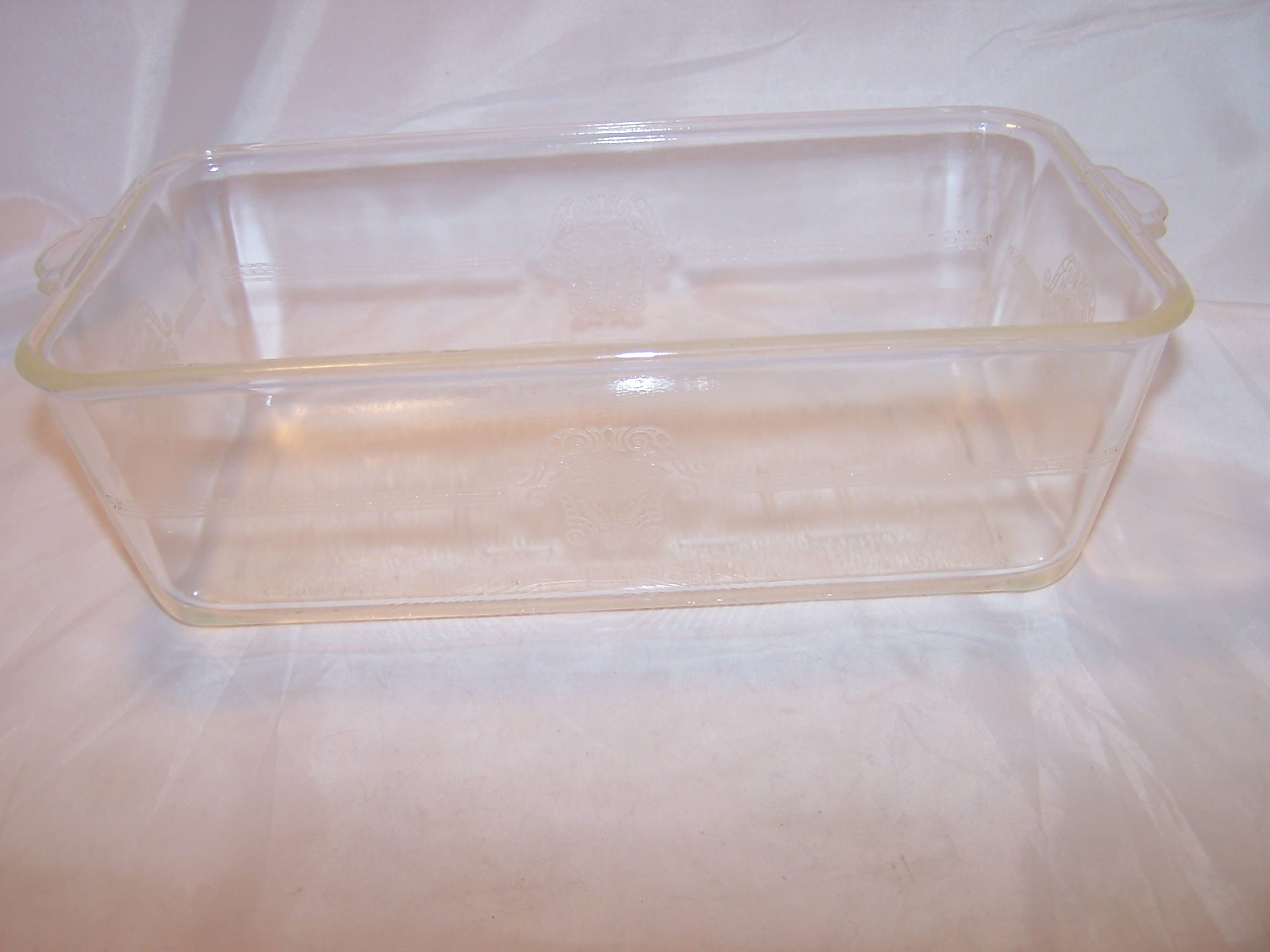 Glasbake Embossed Loaf Pan 253