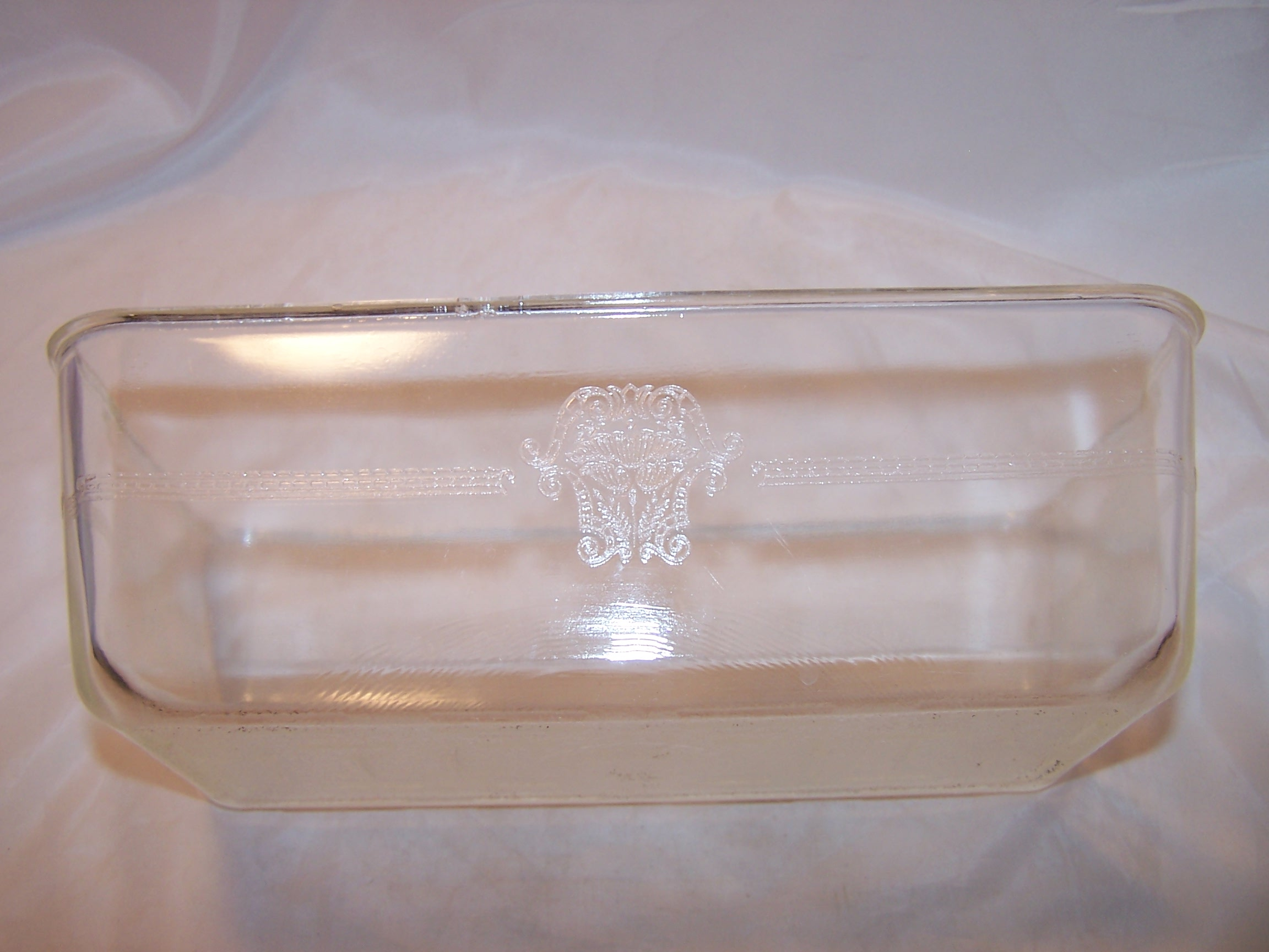 Image 9 of Glasbake Bake Set, Embossed, Elegant, 1911