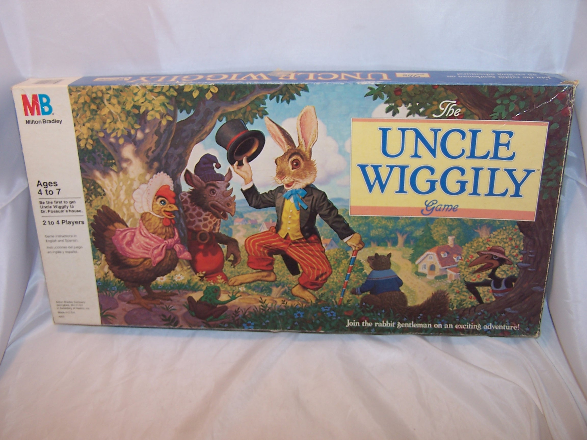 Uncle Wiggily Game, 1988, Milton Bradley