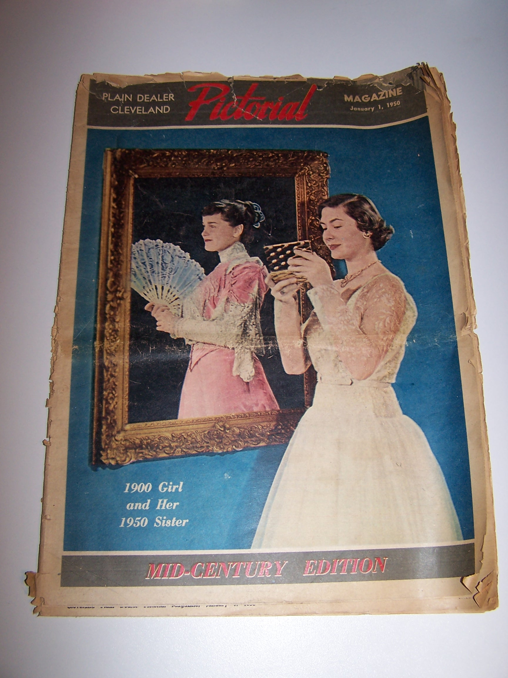Mid Century Edition Pictorial Magazine, 1950, Cleveland Plain Dealer