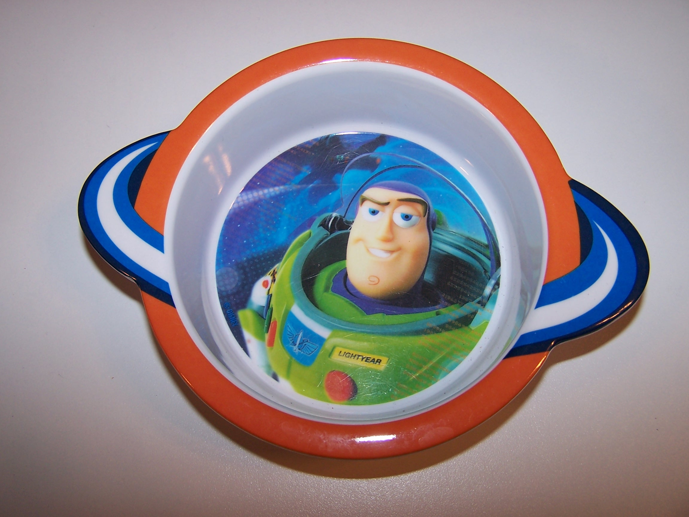 Buzz Lightyear Cereal Bowl, Child Size, Plastic, Disney