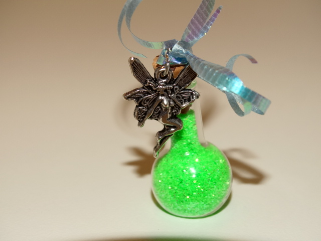 Image 1 of Fairy Dust, Green, w Fairy