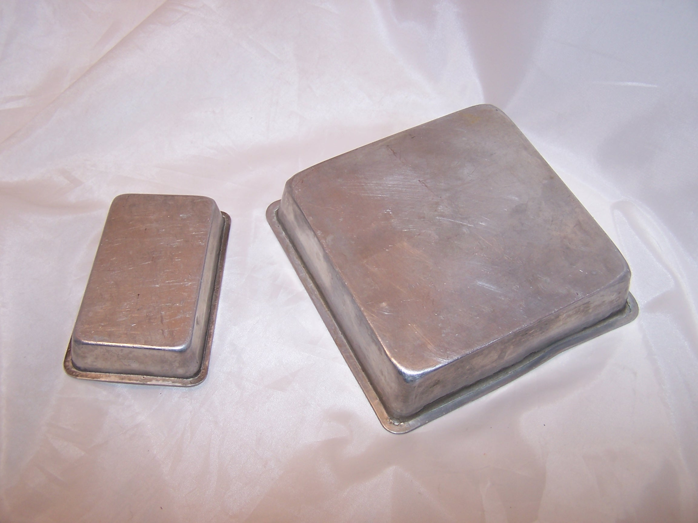 Image 1 of Toy Baking Pans, Childs Cookware, Aluminum