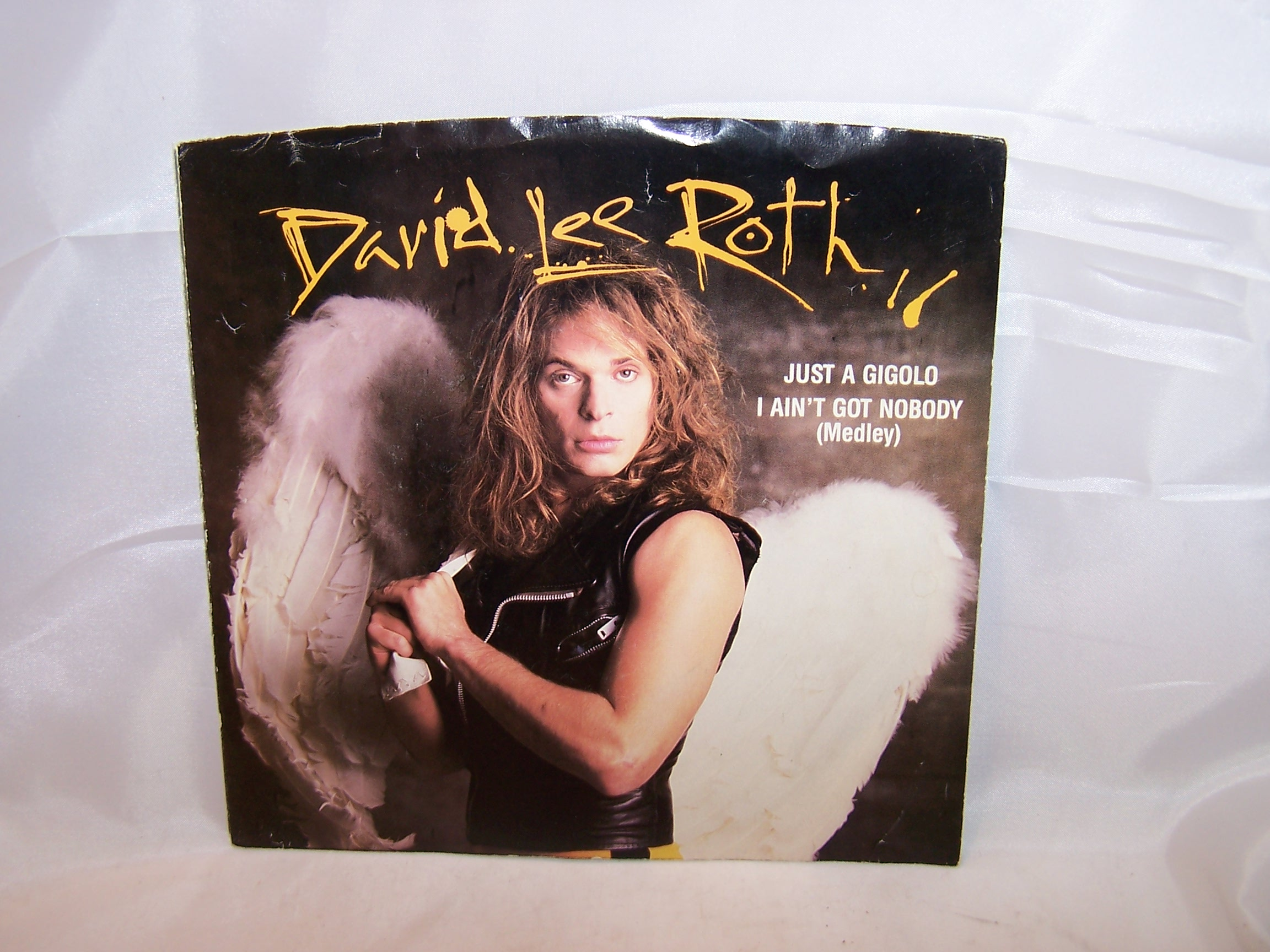 David Lee Roth, Just a Gigolo, 45 RPM Record, 1985