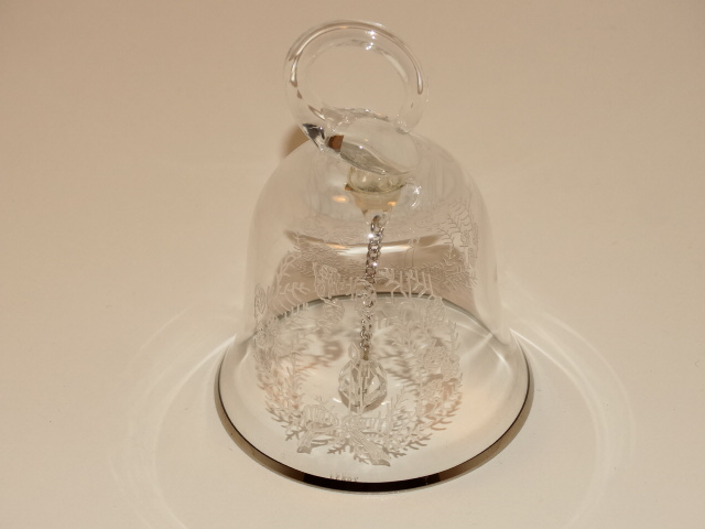 Lenox Crystal Bell 1984